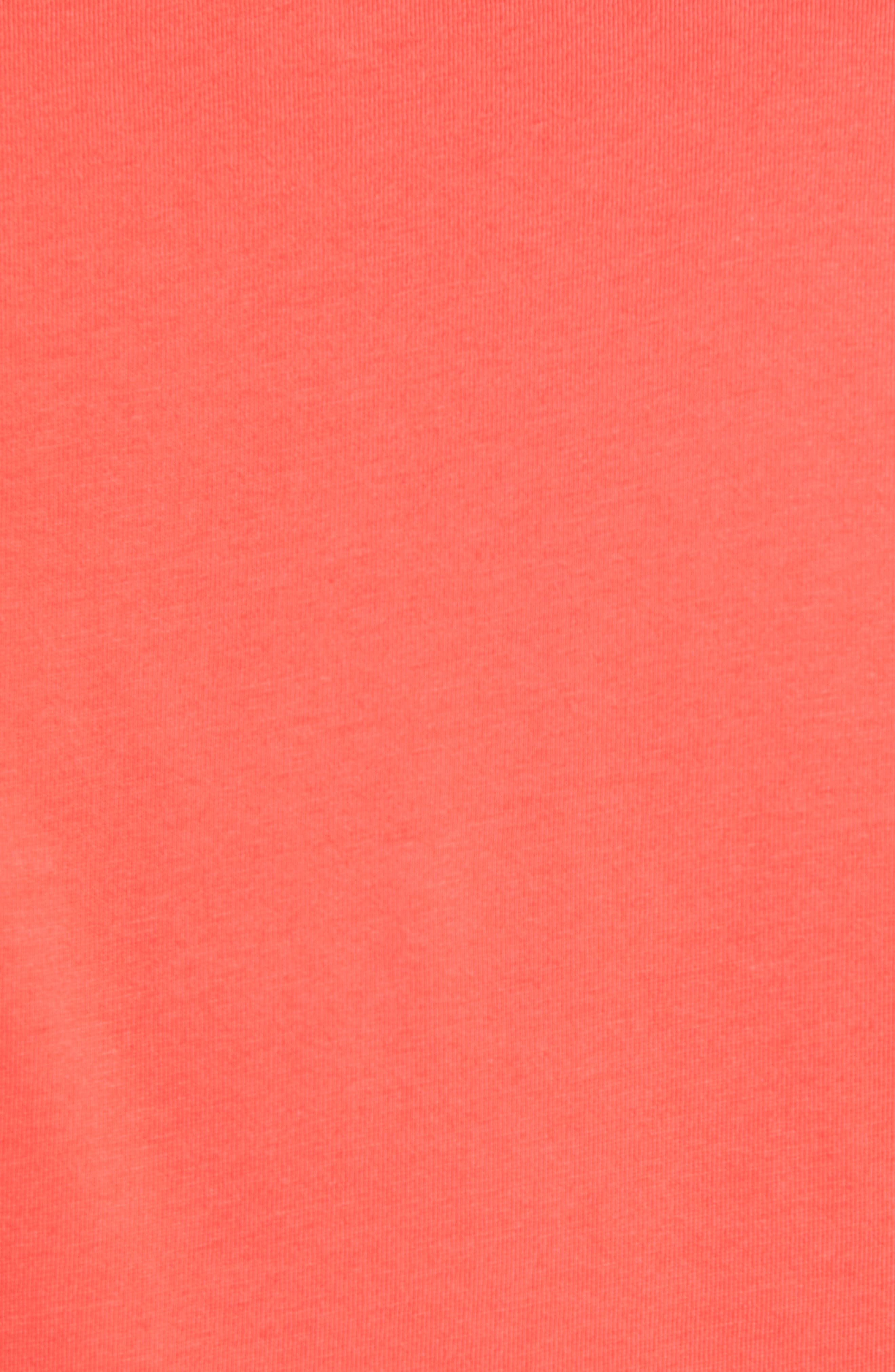 'Trout Fitz Roy' Organic Cotton Polo,                             Alternate thumbnail 5, color,                             SPICED CORAL