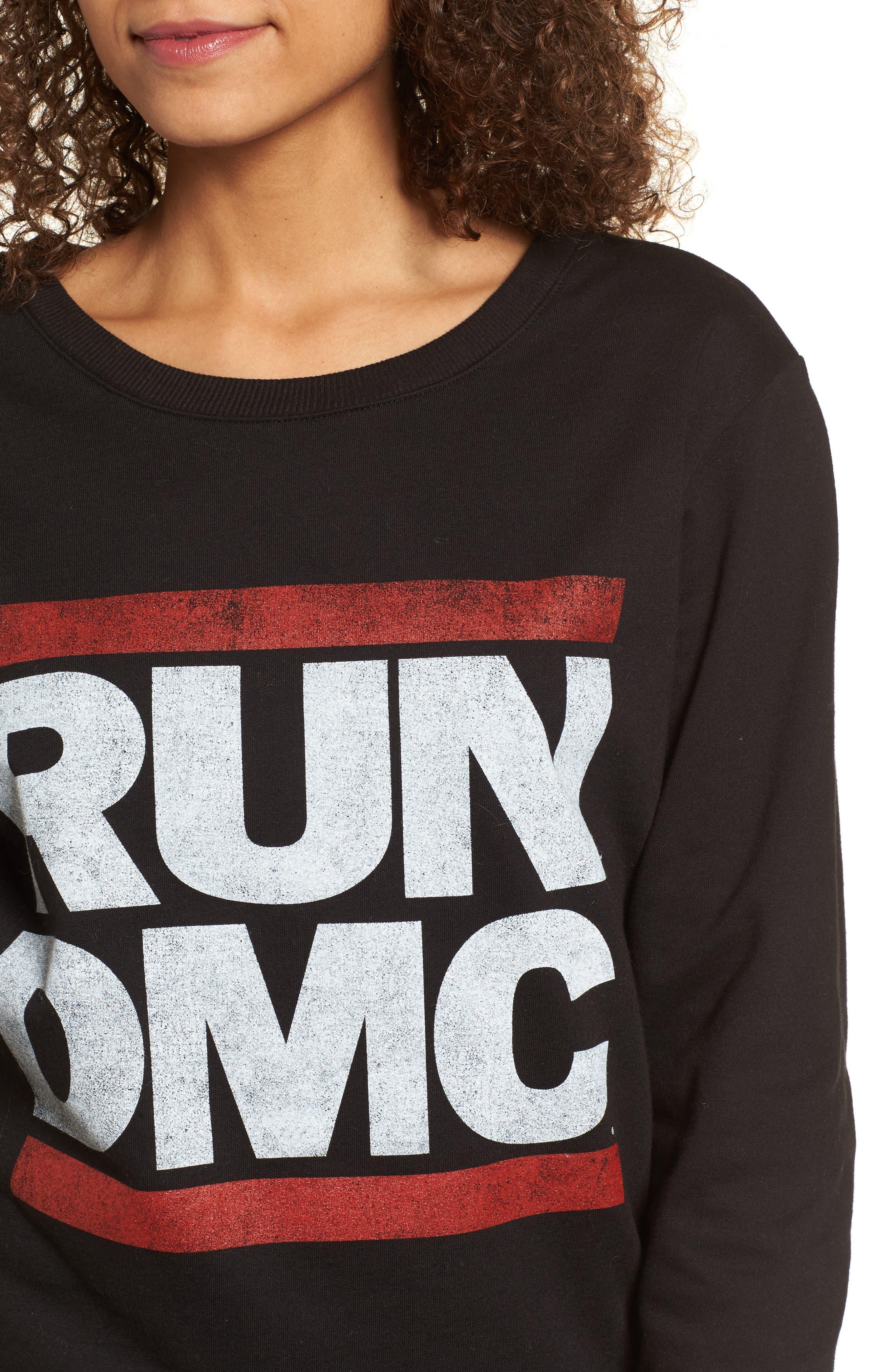 Run-DMC Sweatshirt,                             Alternate thumbnail 4, color,                             001