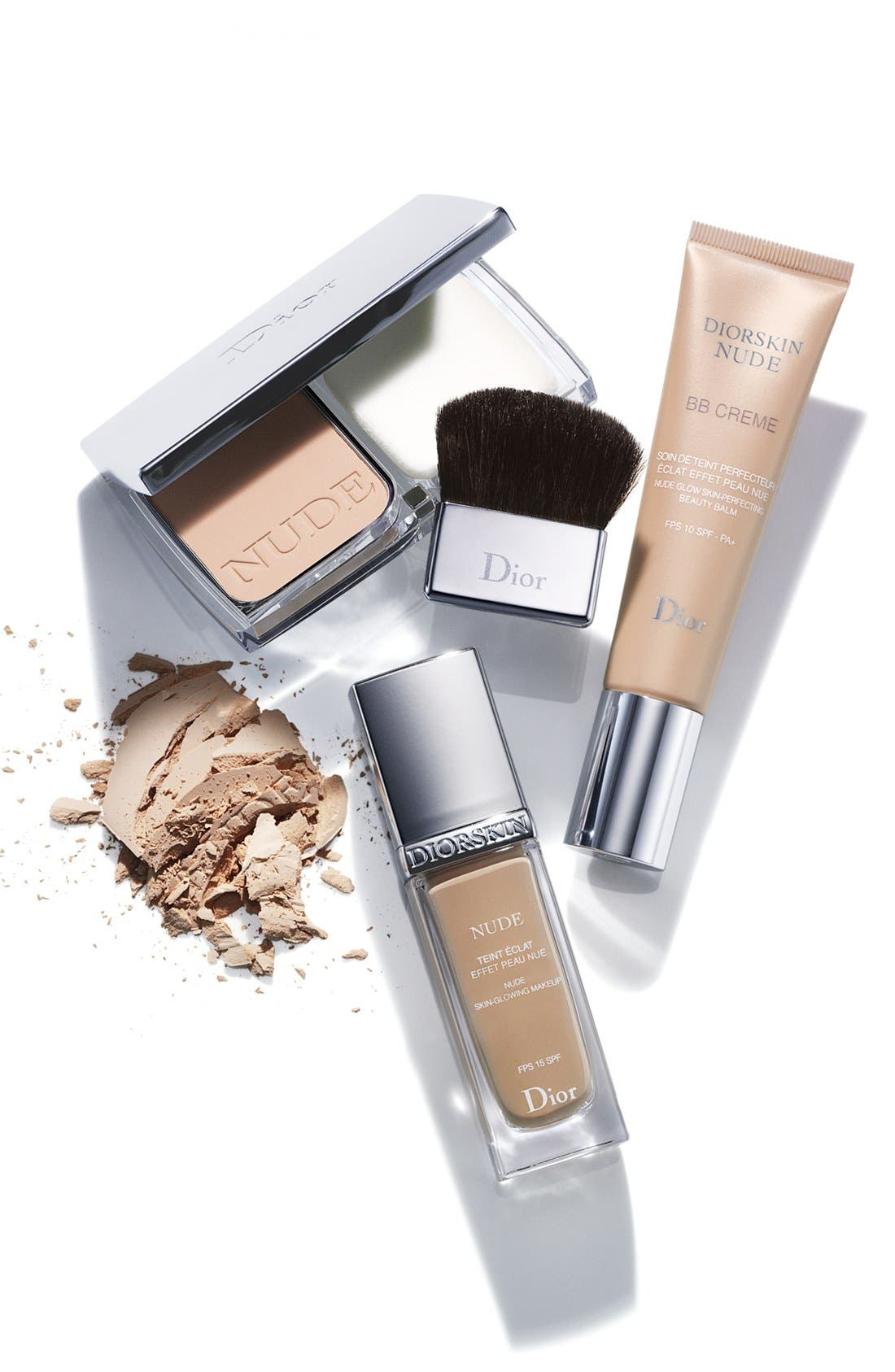 Diorskin Nude Skin-Glowing Foundation Broad Spectrum SPF 15,                             Alternate thumbnail 3, color,                             032