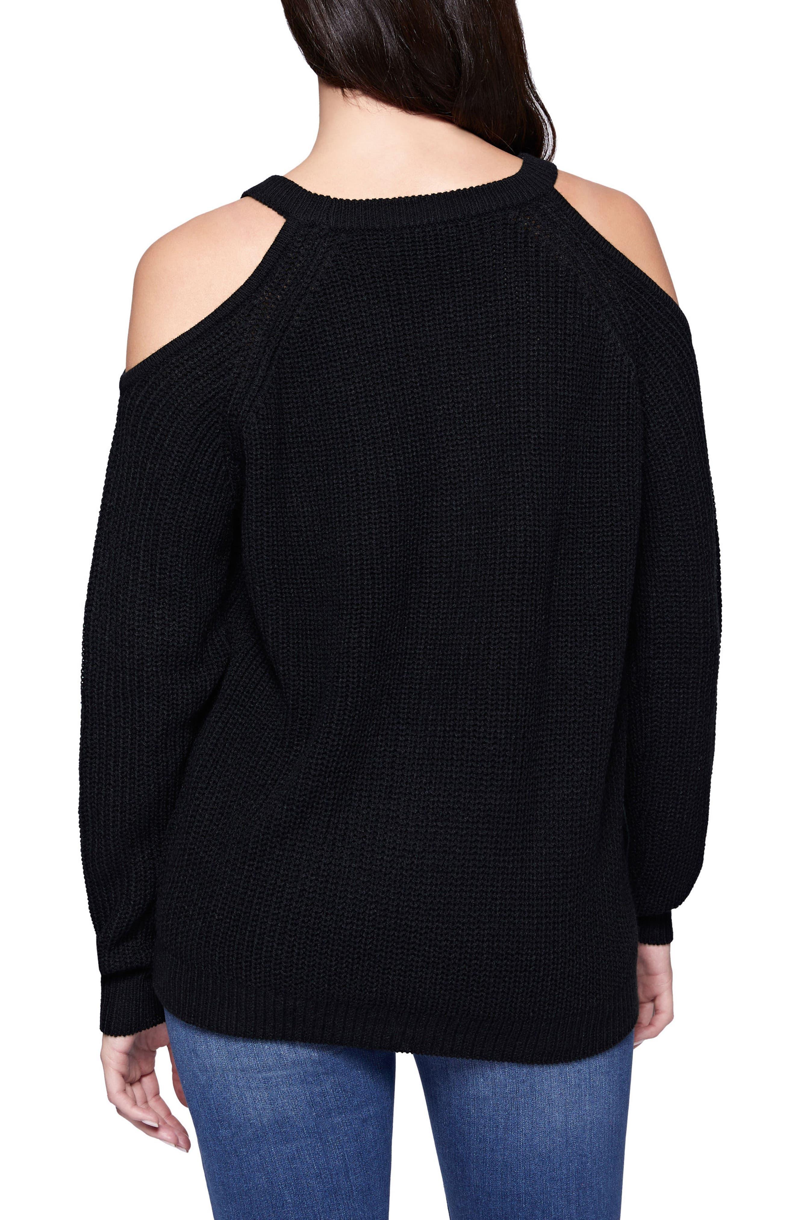Riley Cold Shoulder Sweater,                             Alternate thumbnail 12, color,