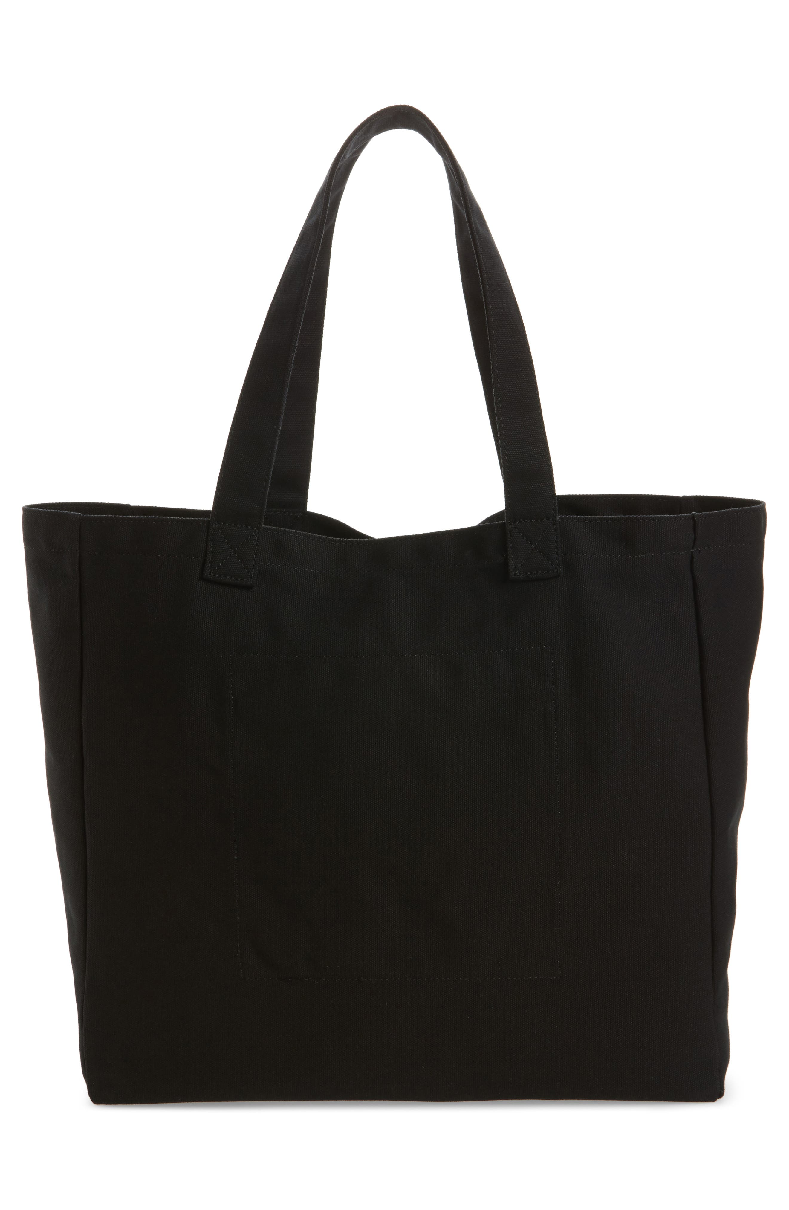 Oversized Canvas Tote,                             Alternate thumbnail 9, color,