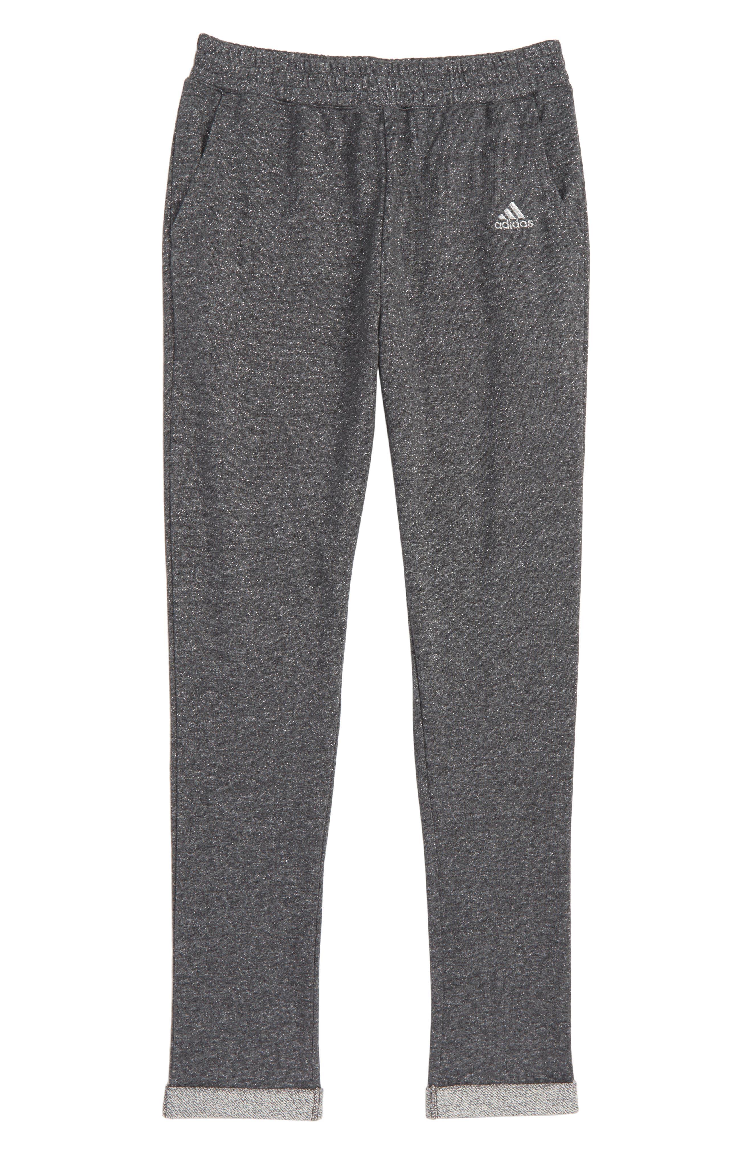 ADIDAS Sparkle Jogger Pants, Main, color, 028