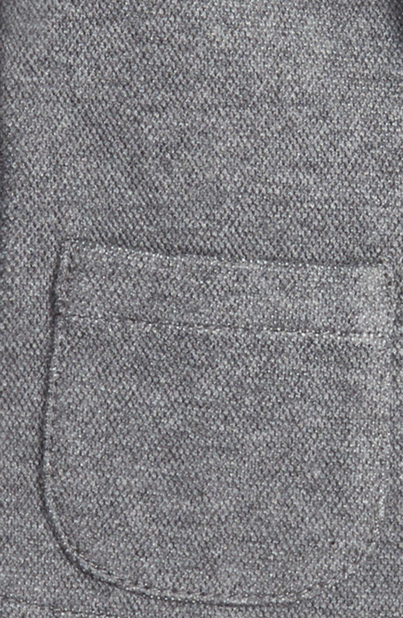 Piqué Knit Blazer,                             Alternate thumbnail 2, color,                             084