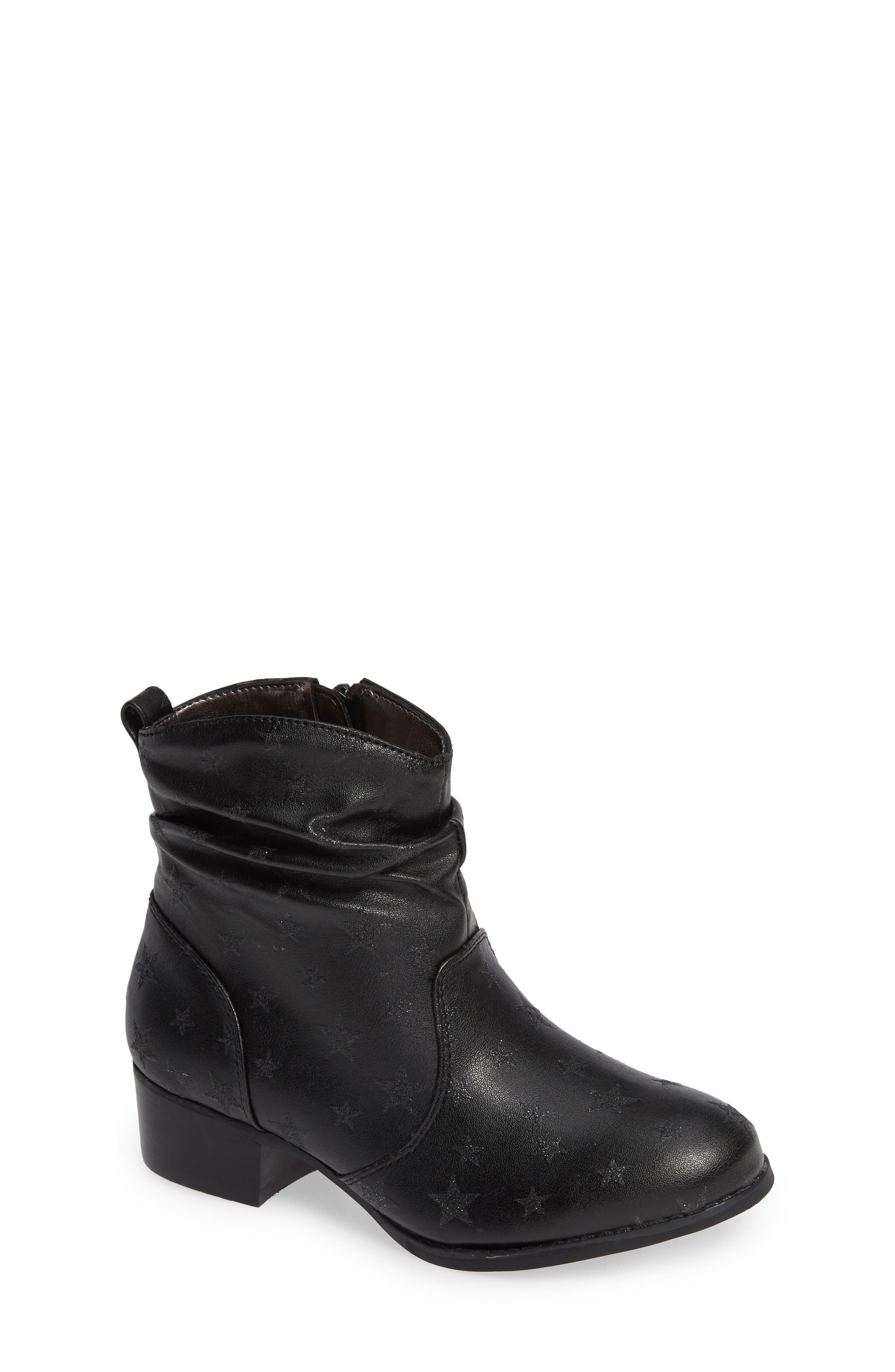 JCountry Slouch Bootie,                             Main thumbnail 1, color,                             BLACK