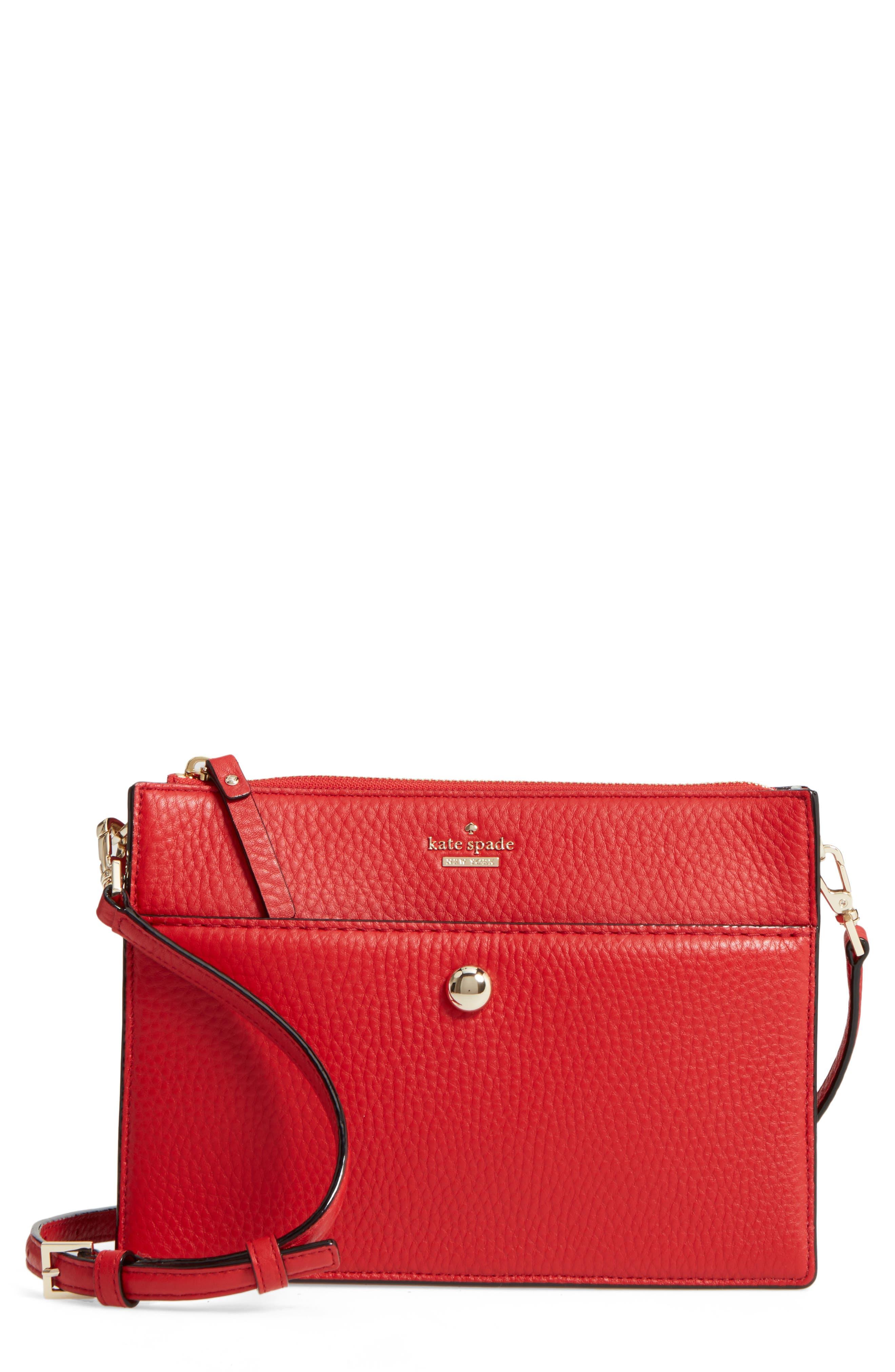 steward street clarise leather shoulder bag,                             Main thumbnail 3, color,