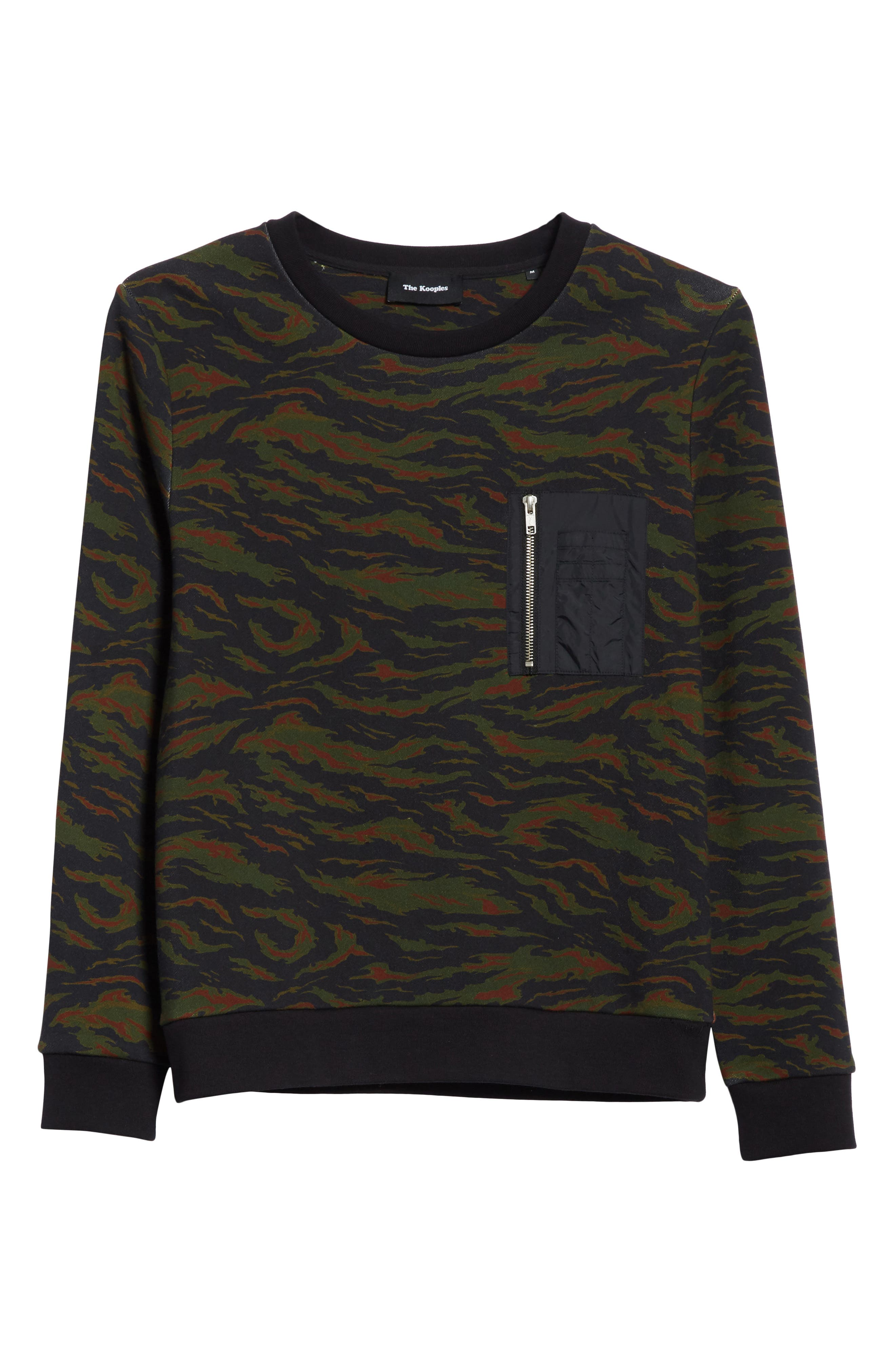 Camo Sweater,                             Alternate thumbnail 6, color,                             250