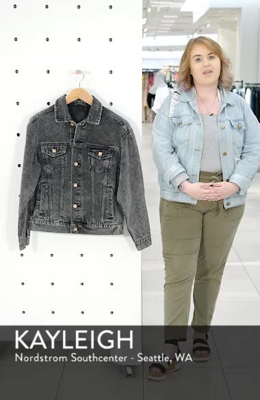 Classic Fit Denim Jacket, sales video thumbnail