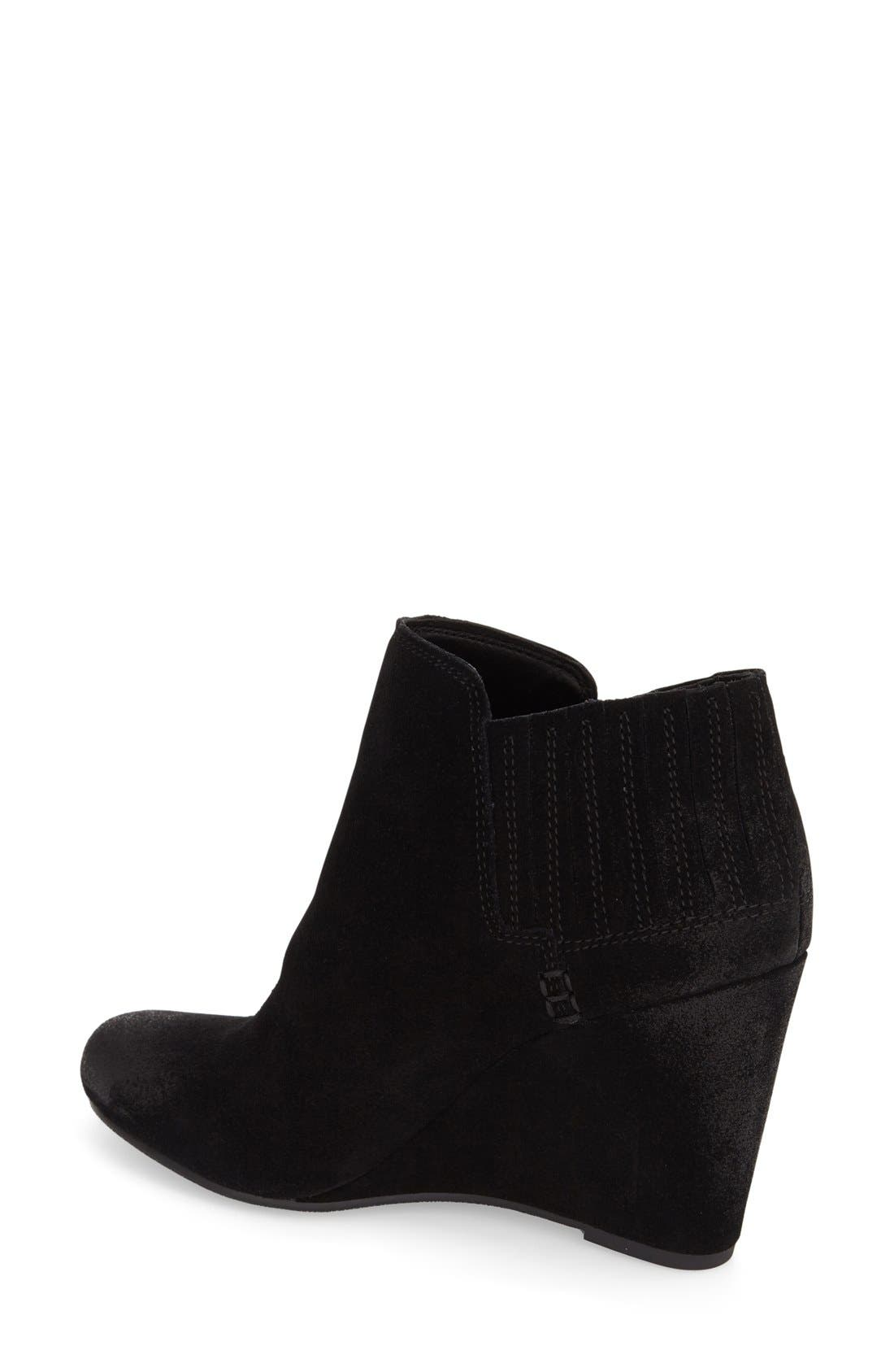 'Gwynn' Wedge Bootie,                             Alternate thumbnail 3, color,                             001
