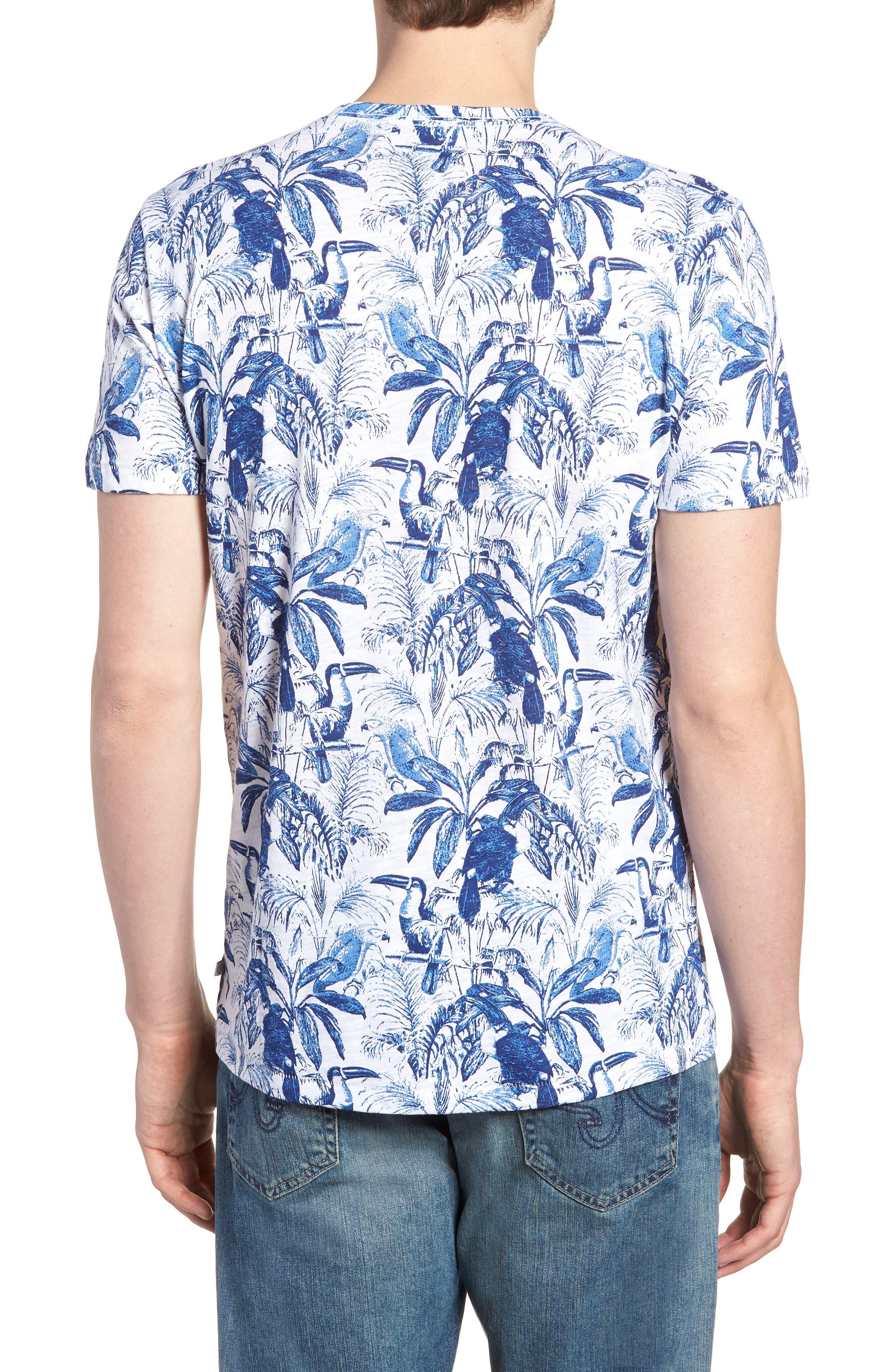 Print T-Shirt,                             Alternate thumbnail 2, color,