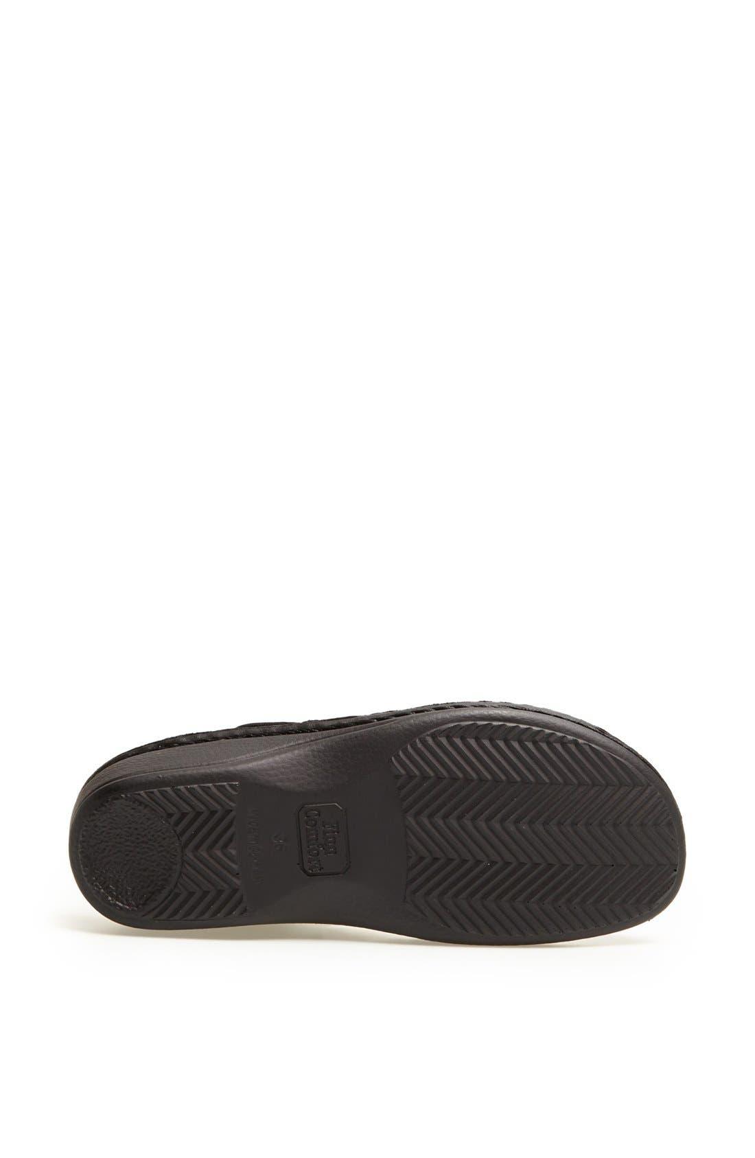 'Faro-S' Leather Sandal,                             Alternate thumbnail 4, color,
