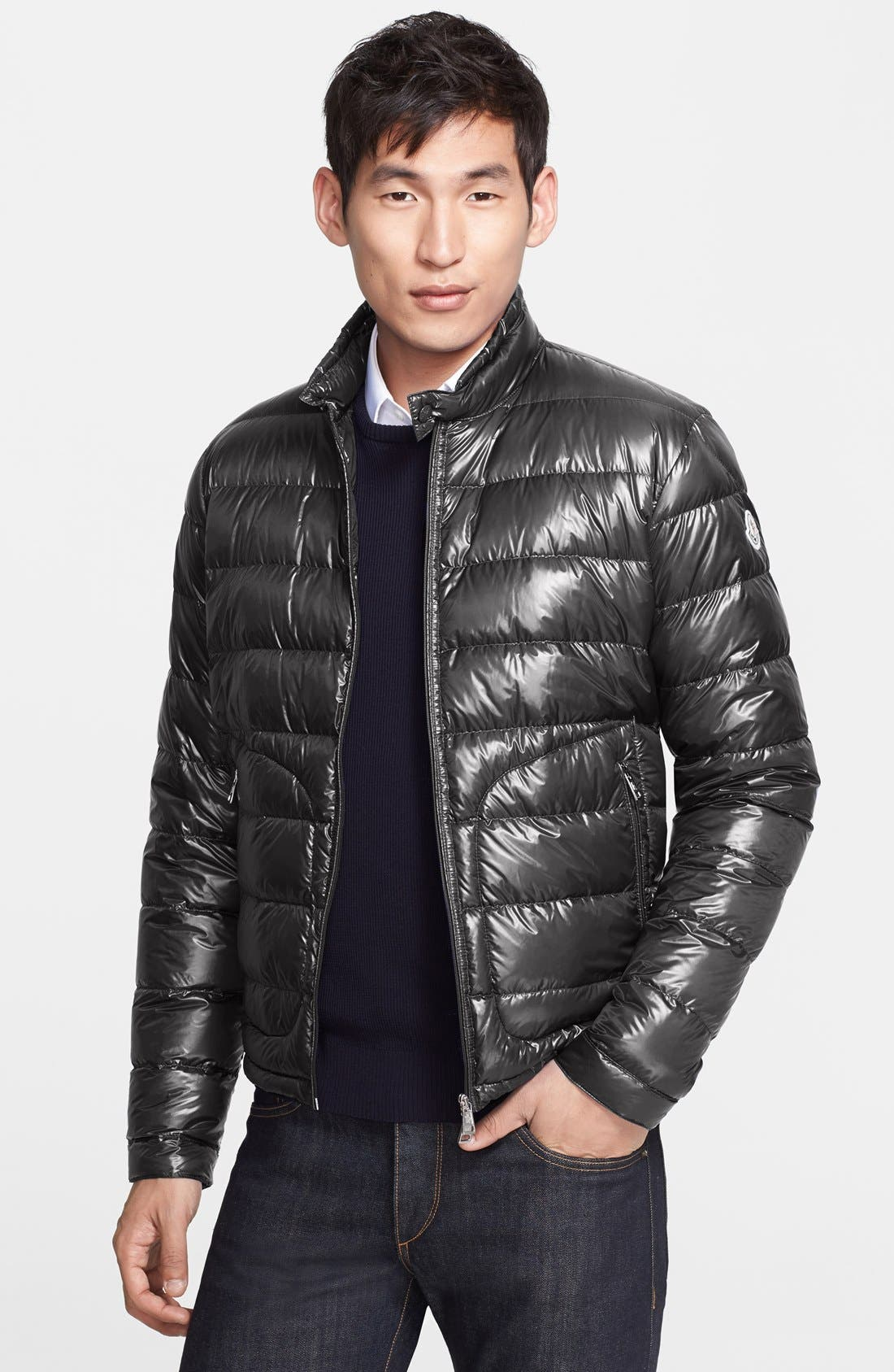 'Acorus' Down Puffer Jacket, Main, color, 021