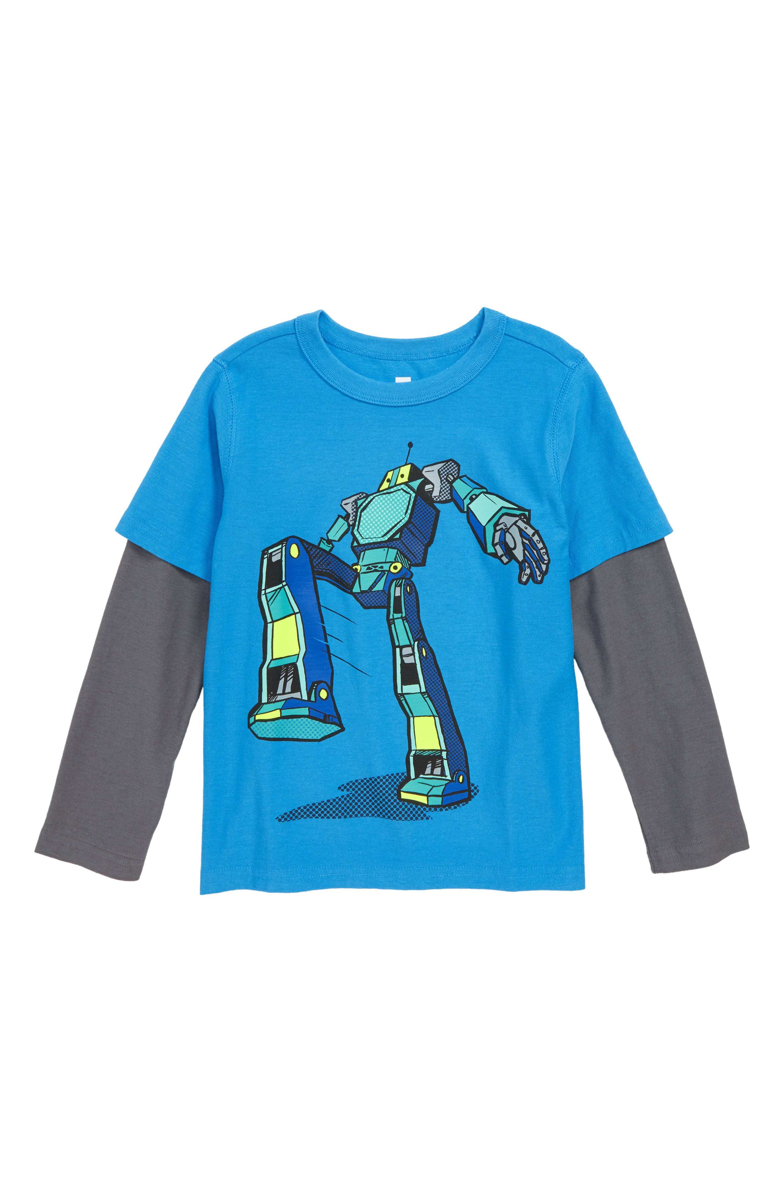 Robot Layer T-Shirt,                         Main,                         color, 477