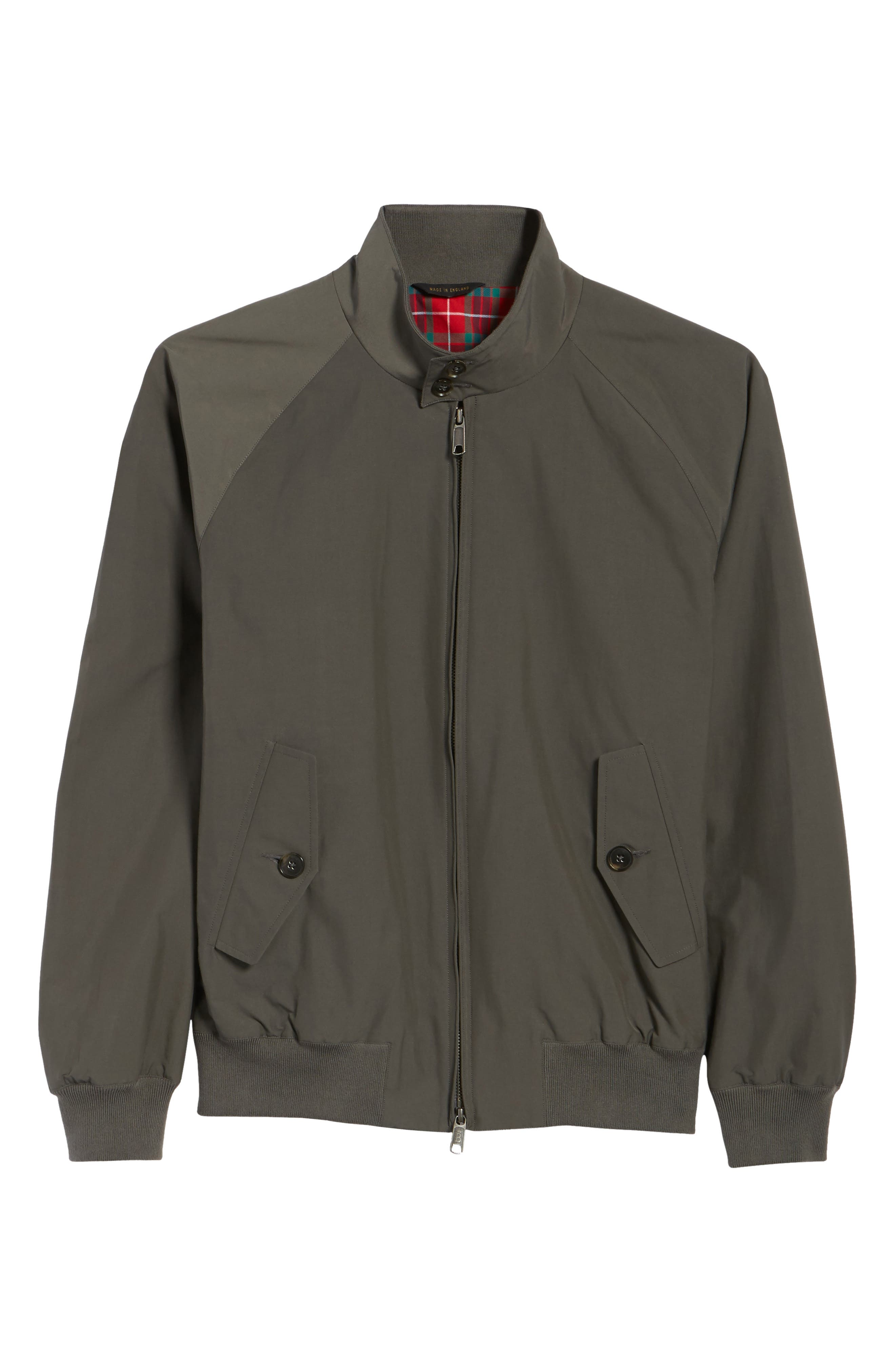 G9 Water Resistant Harrington Jacket,                             Alternate thumbnail 5, color,                             021