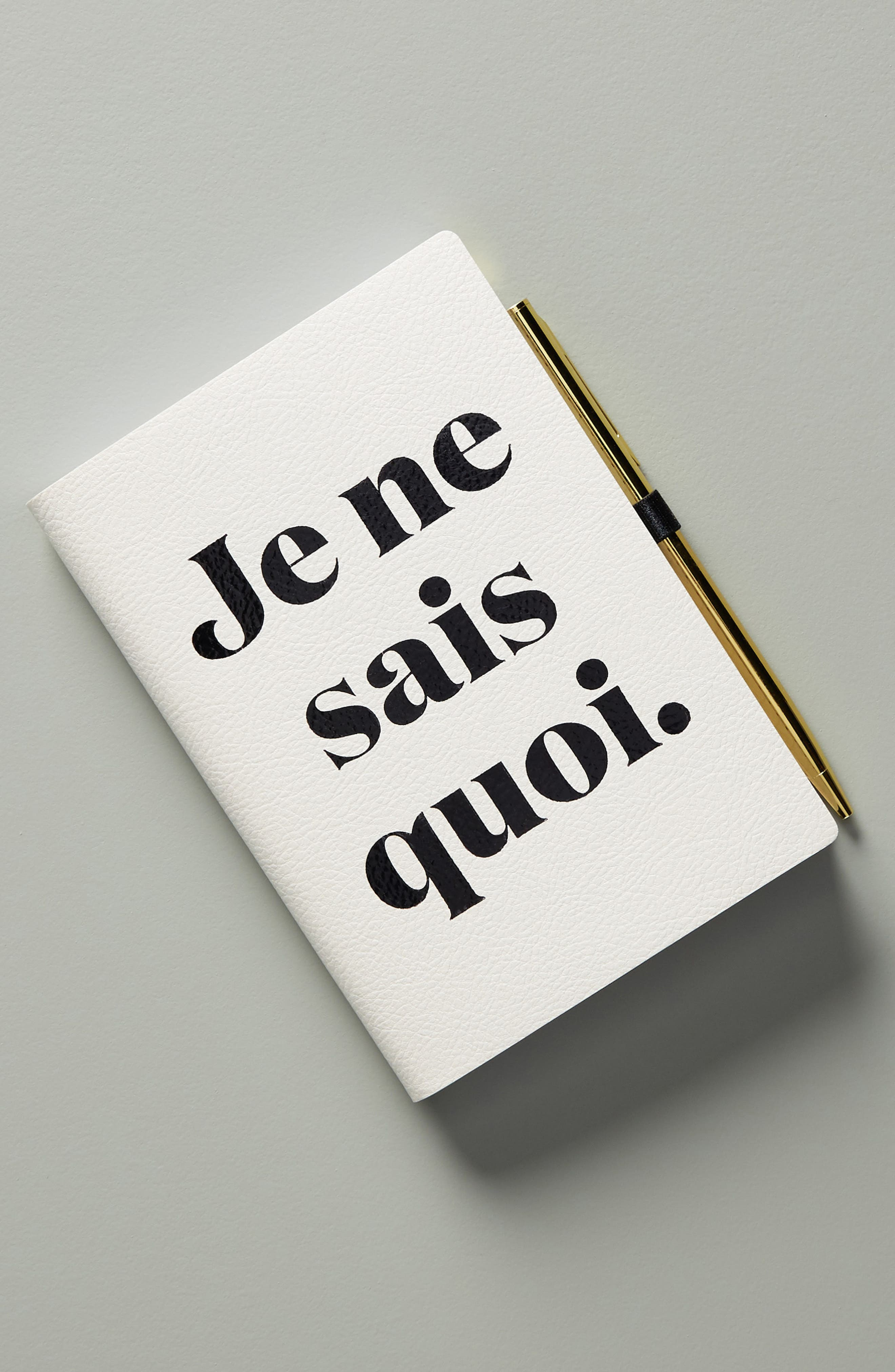 Je Na Sais Quoi Journal, Main, color, BLUE