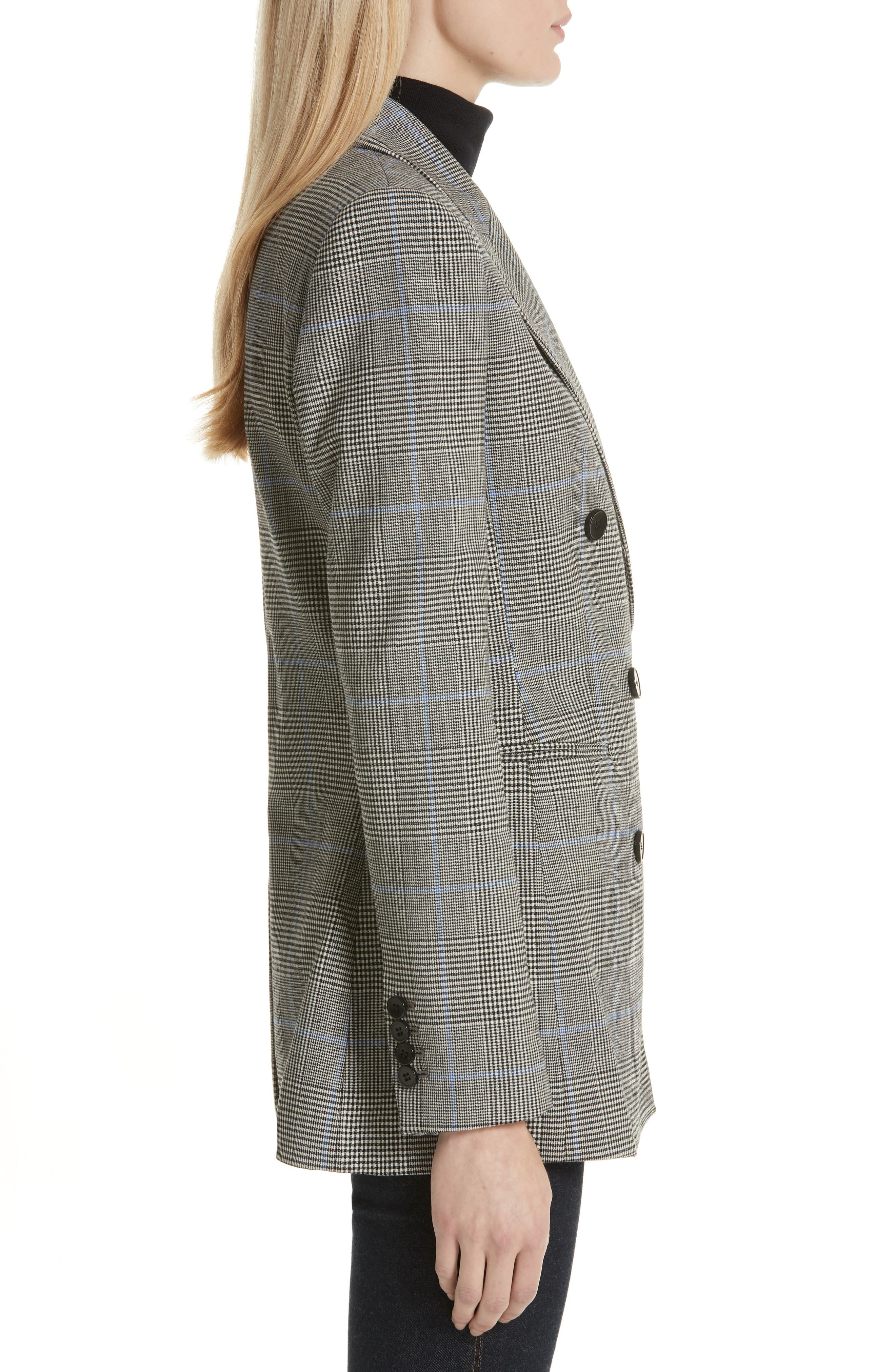 THEORY,                             Portland Plaid Power Jacket,                             Alternate thumbnail 3, color,                             020