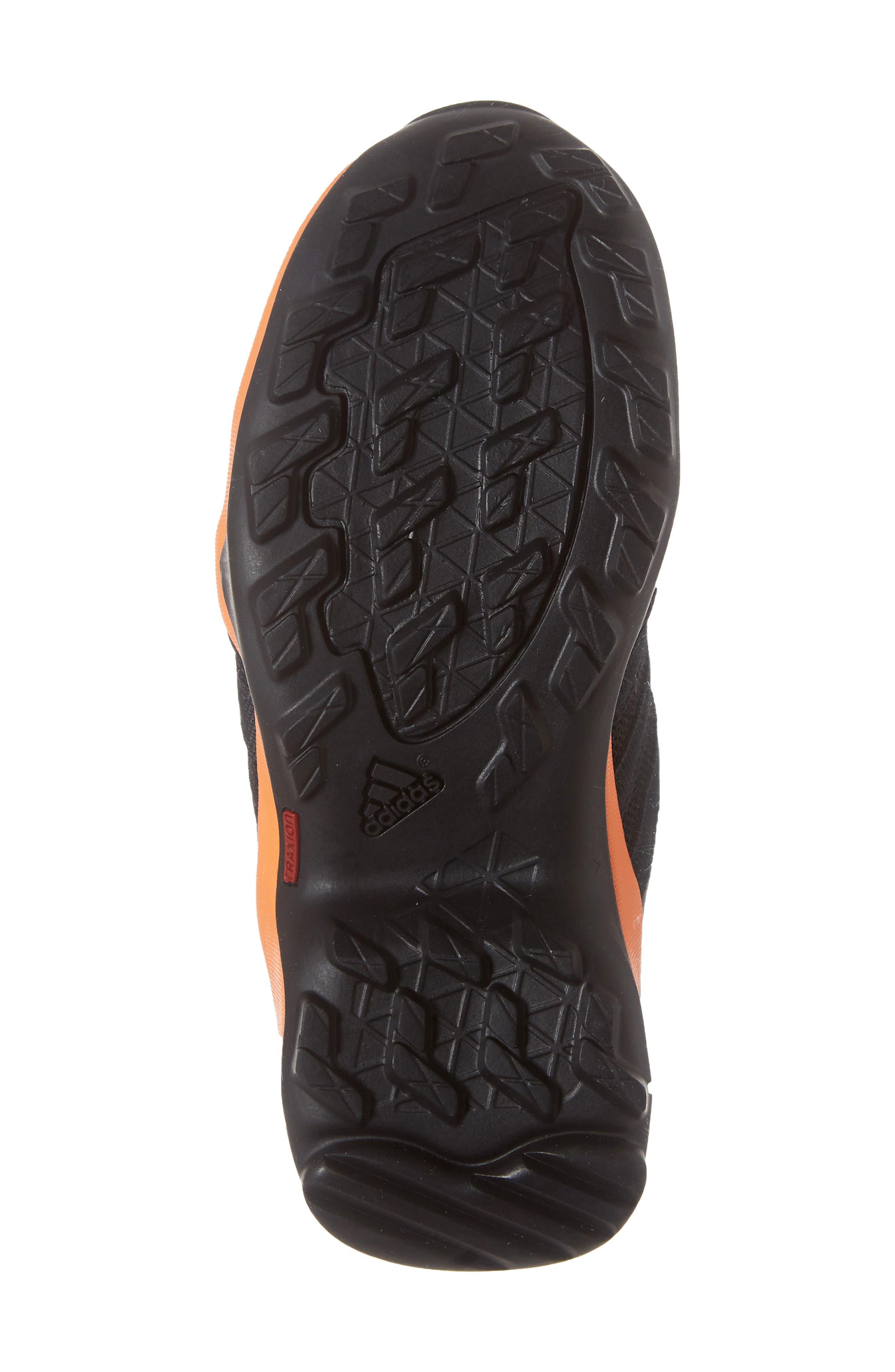 Terrex AX2R CP Sneaker,                             Alternate thumbnail 6, color,                             BLACK/ BLACK/ BLACK