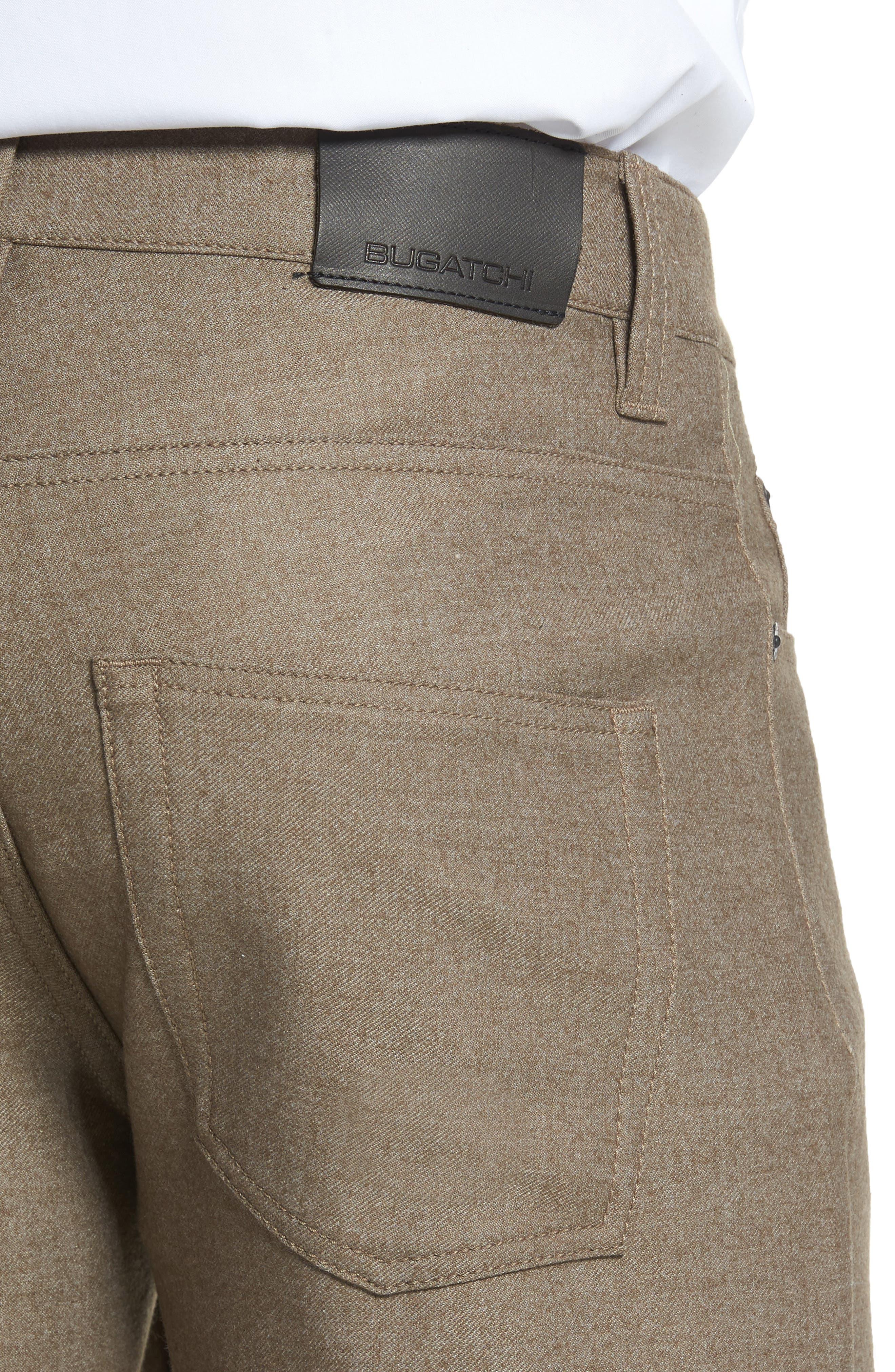 Wool Blend Pants,                             Alternate thumbnail 4, color,                             208