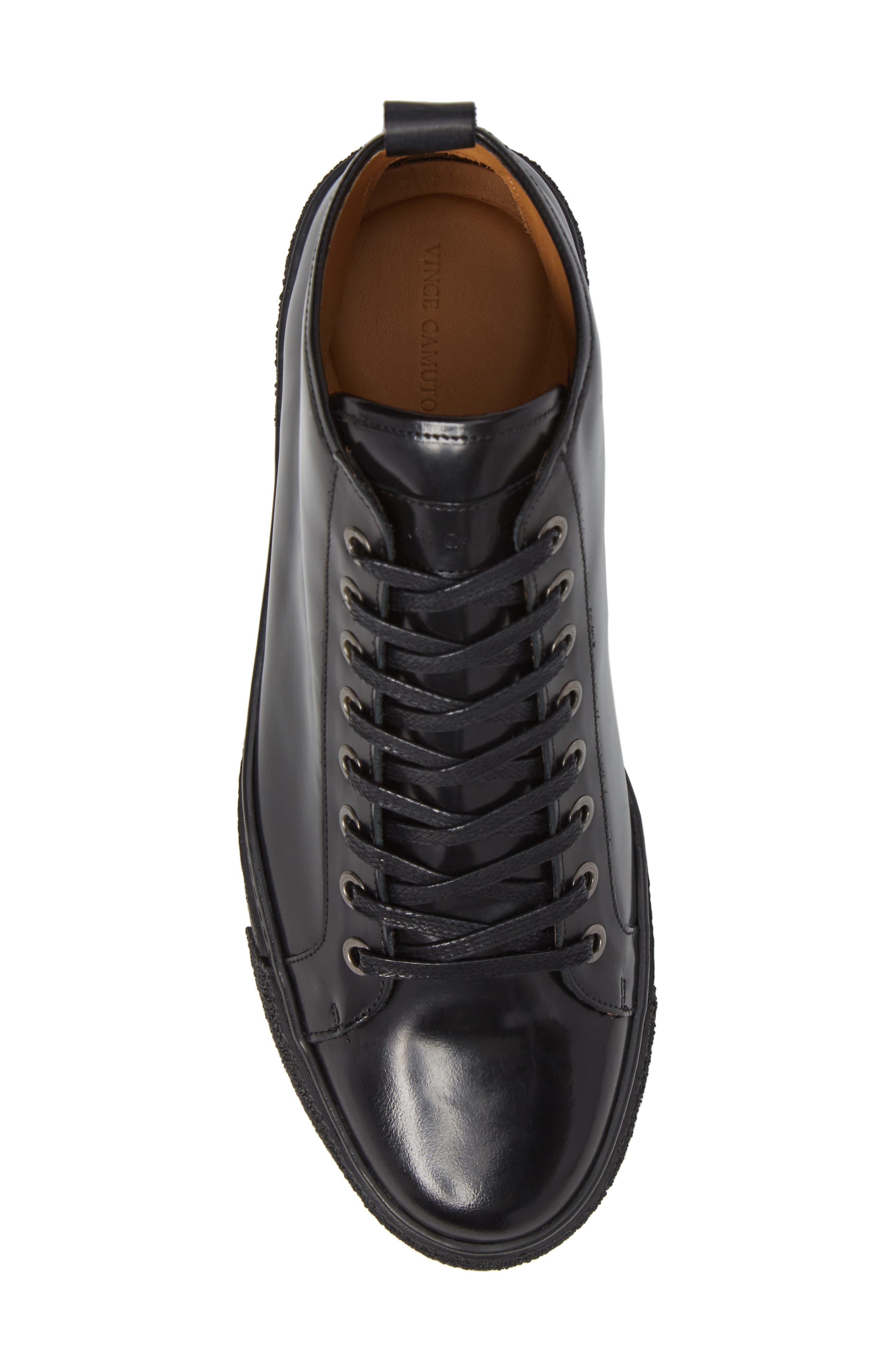 Westan Sneaker,                             Alternate thumbnail 5, color,                             BLACK LEATHER