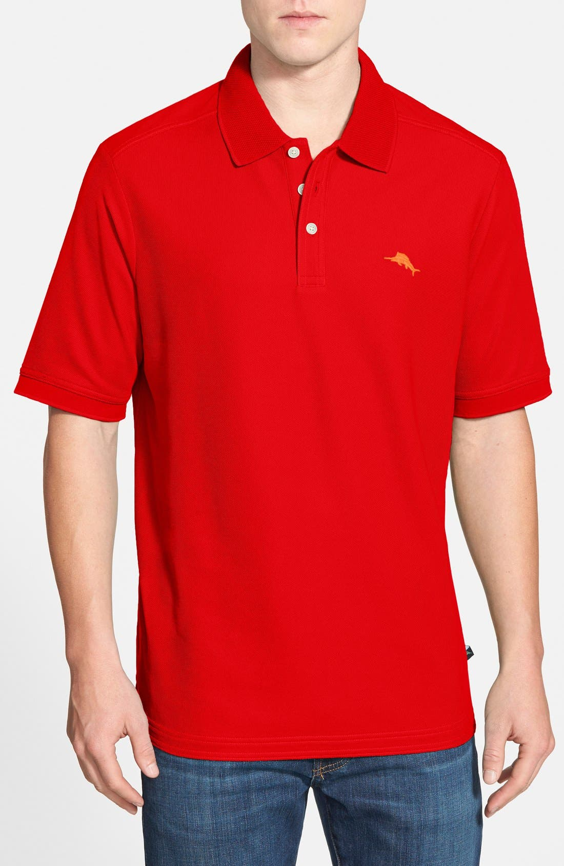 'The Emfielder' Original Fit Piqué Polo,                             Main thumbnail 102, color,