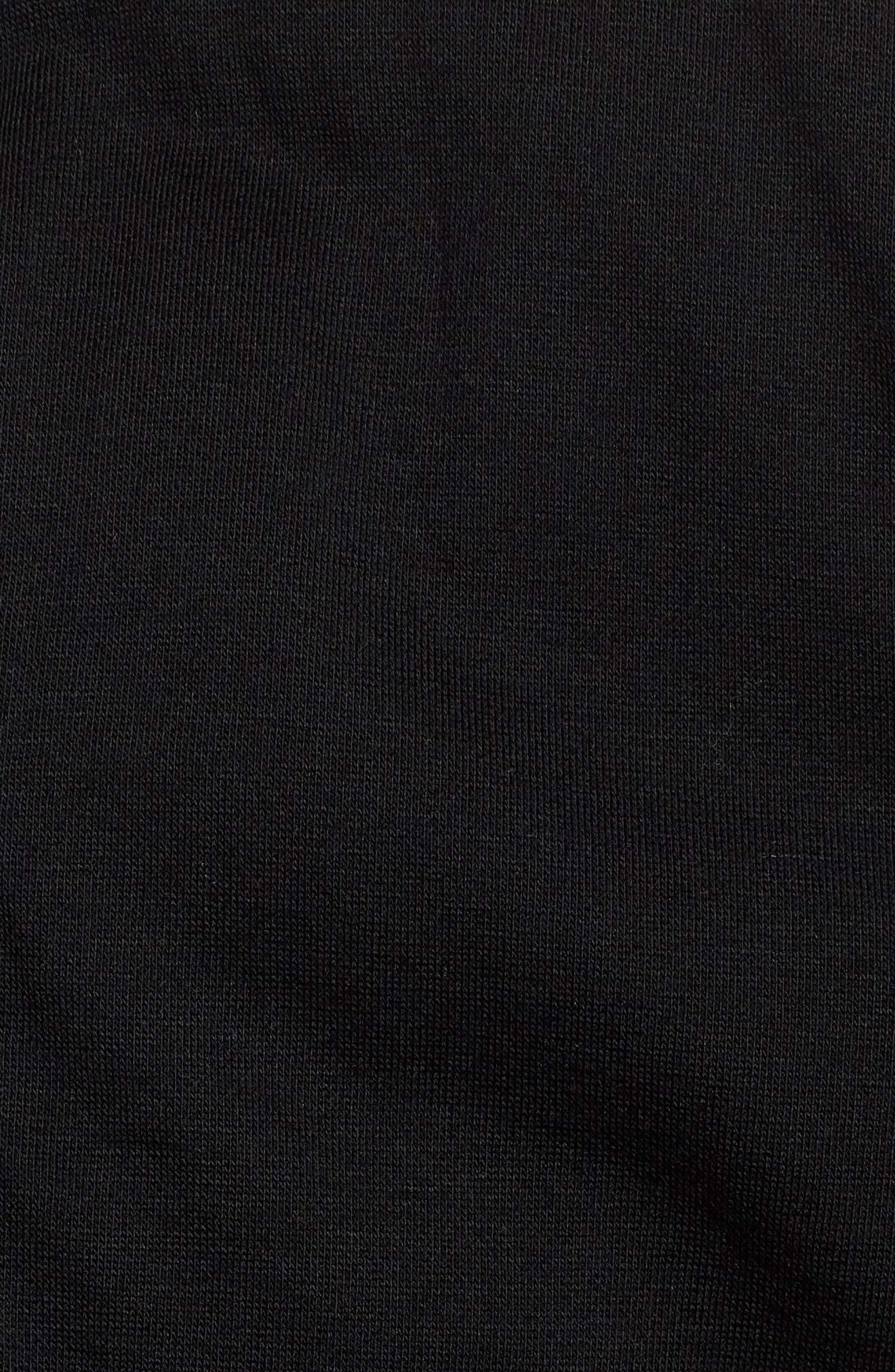 Classic Fit Biker Jacket,                             Alternate thumbnail 6, color,                             001