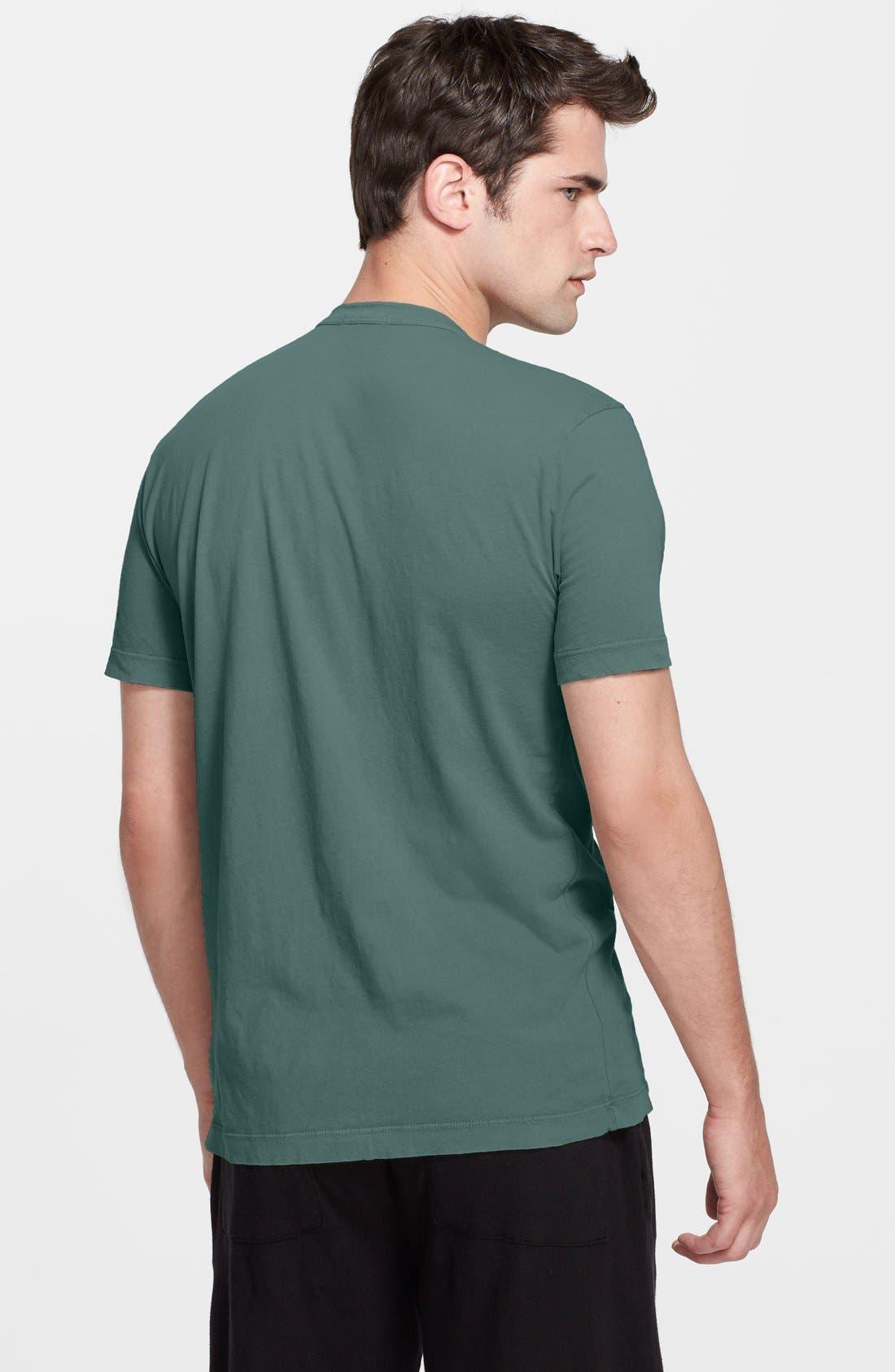 Crewneck Jersey T-Shirt,                             Alternate thumbnail 166, color,