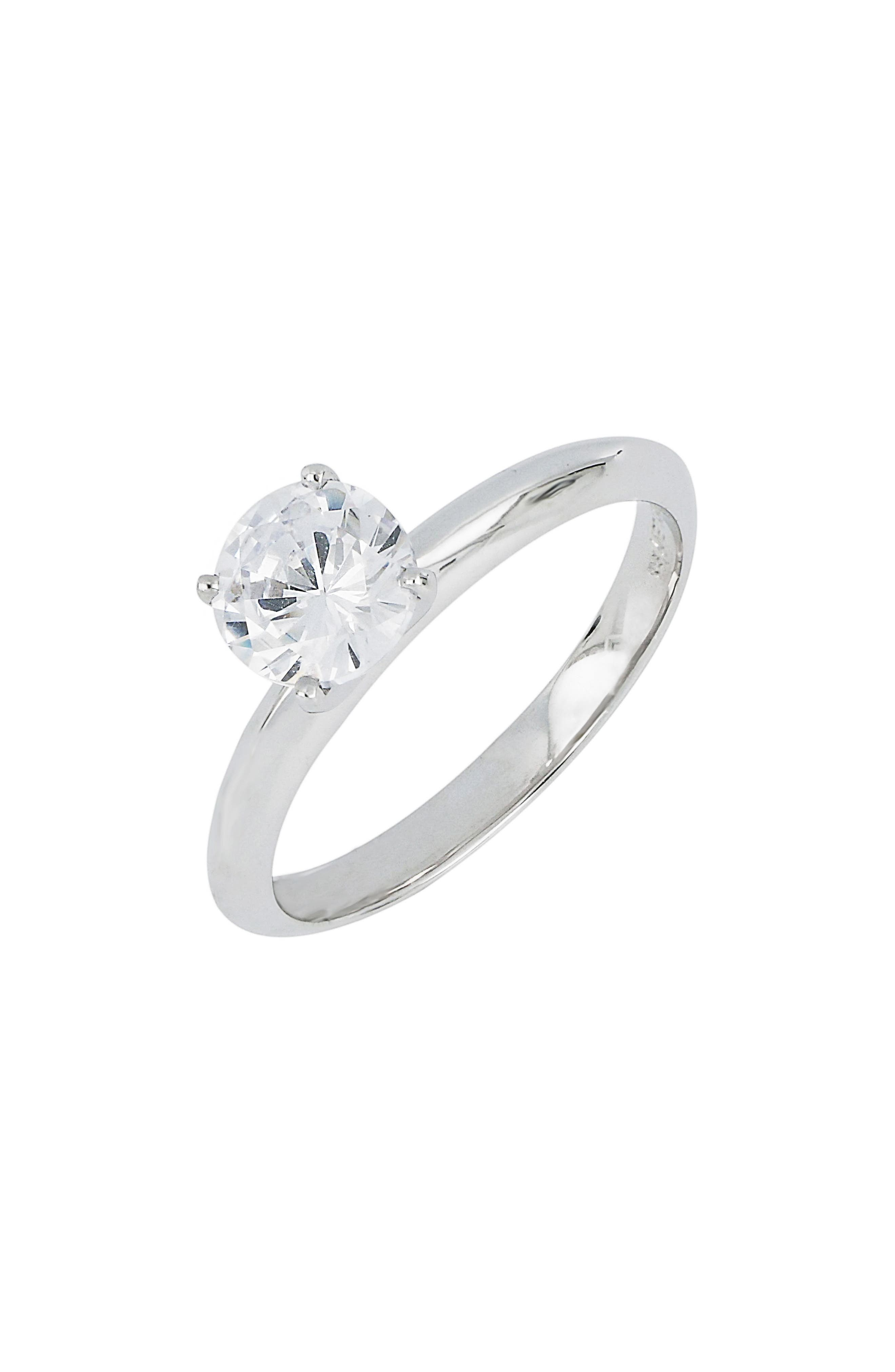 Solitaire Engagement Ring Setting,                             Main thumbnail 1, color,                             711