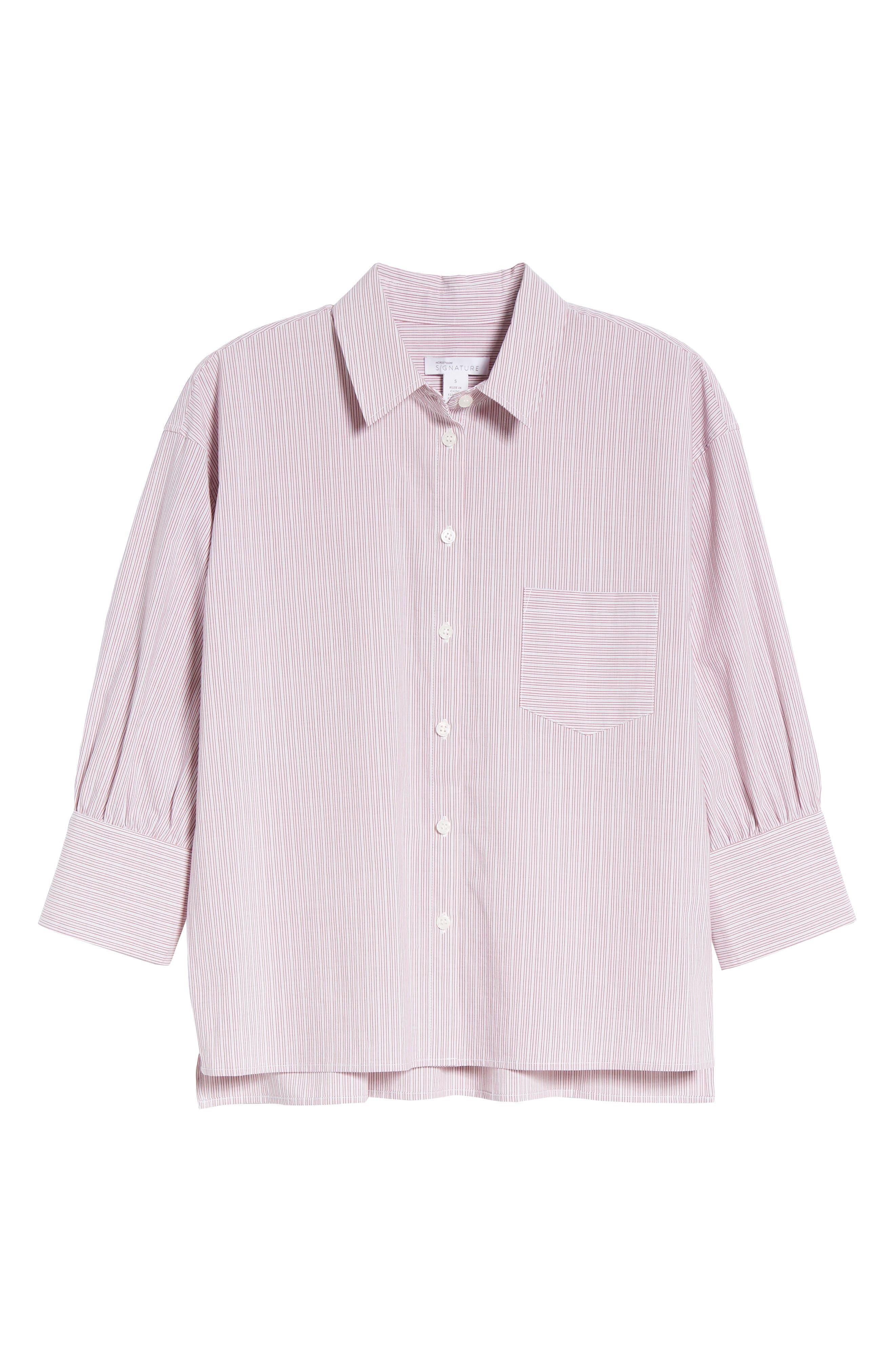 Stripe Shirt,                             Alternate thumbnail 6, color,                             938