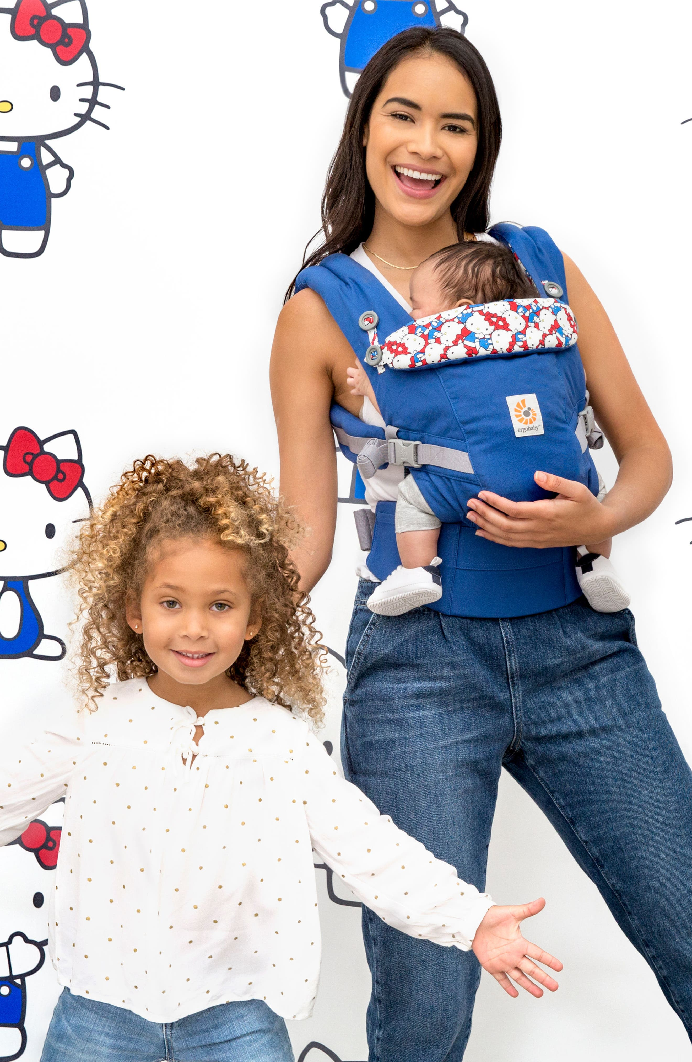 x Hello Kitty<sup>®</sup> Omni 360 Baby Carrier,                             Alternate thumbnail 3, color,                             420