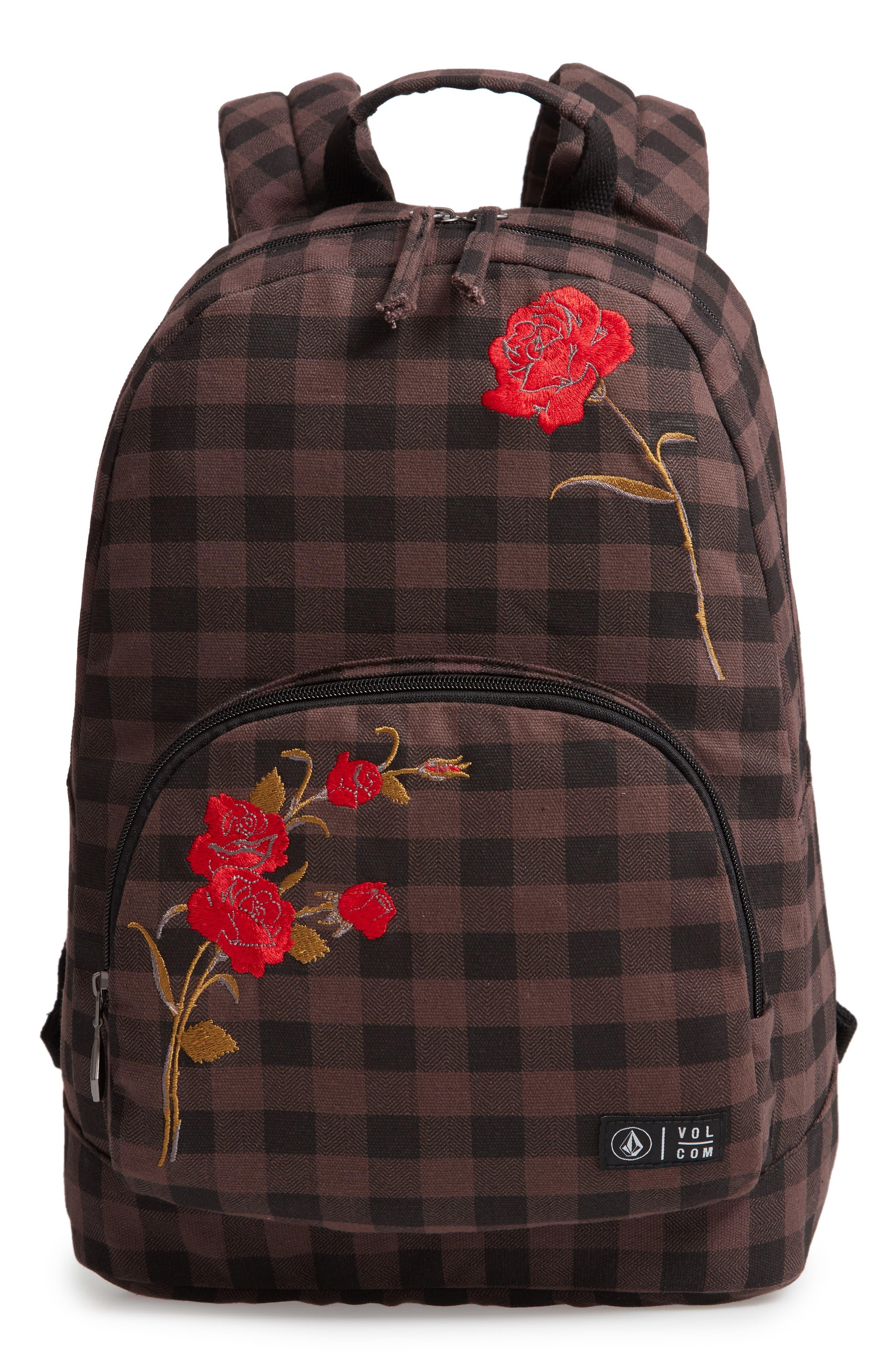 Schoolyard Canvas Backpack,                         Main,                         color, 200