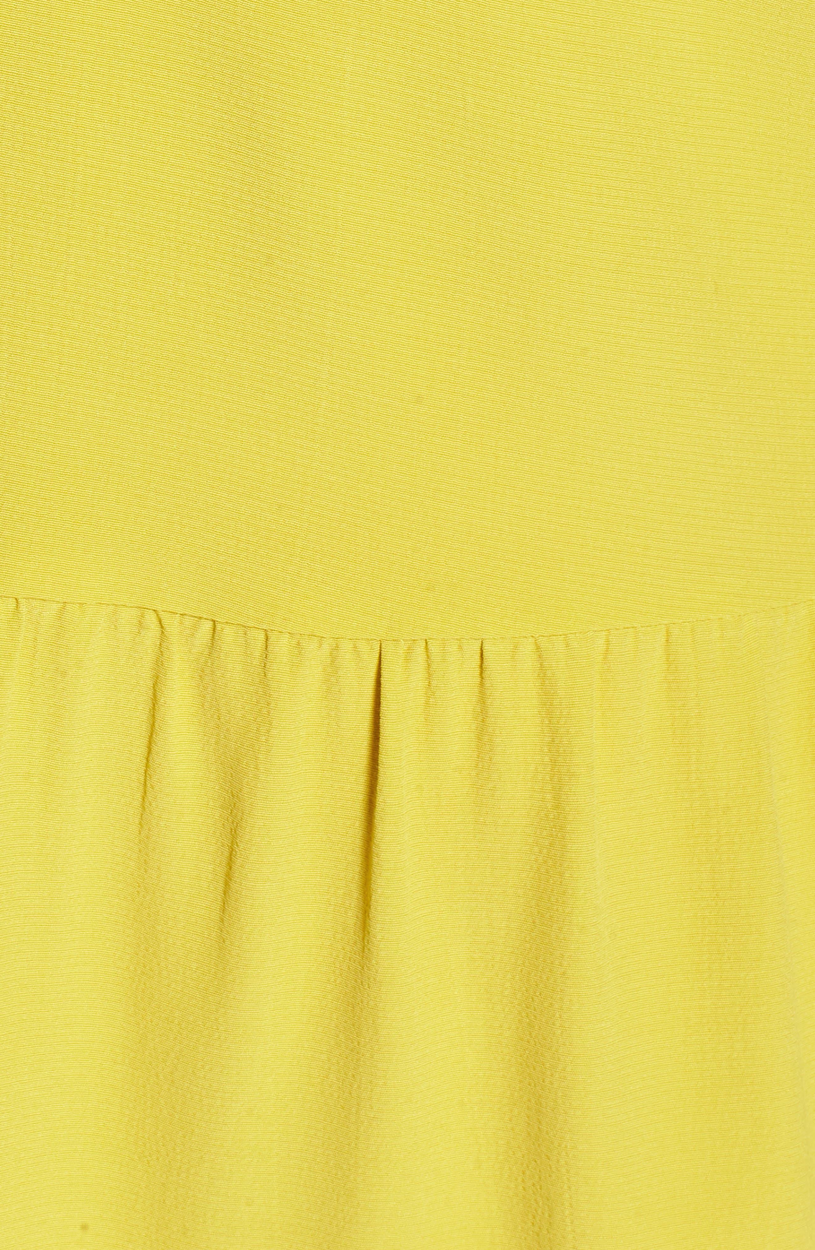 Drop Waist Tencel<sup>®</sup> Lyocell Blend Dress,                             Alternate thumbnail 21, color,