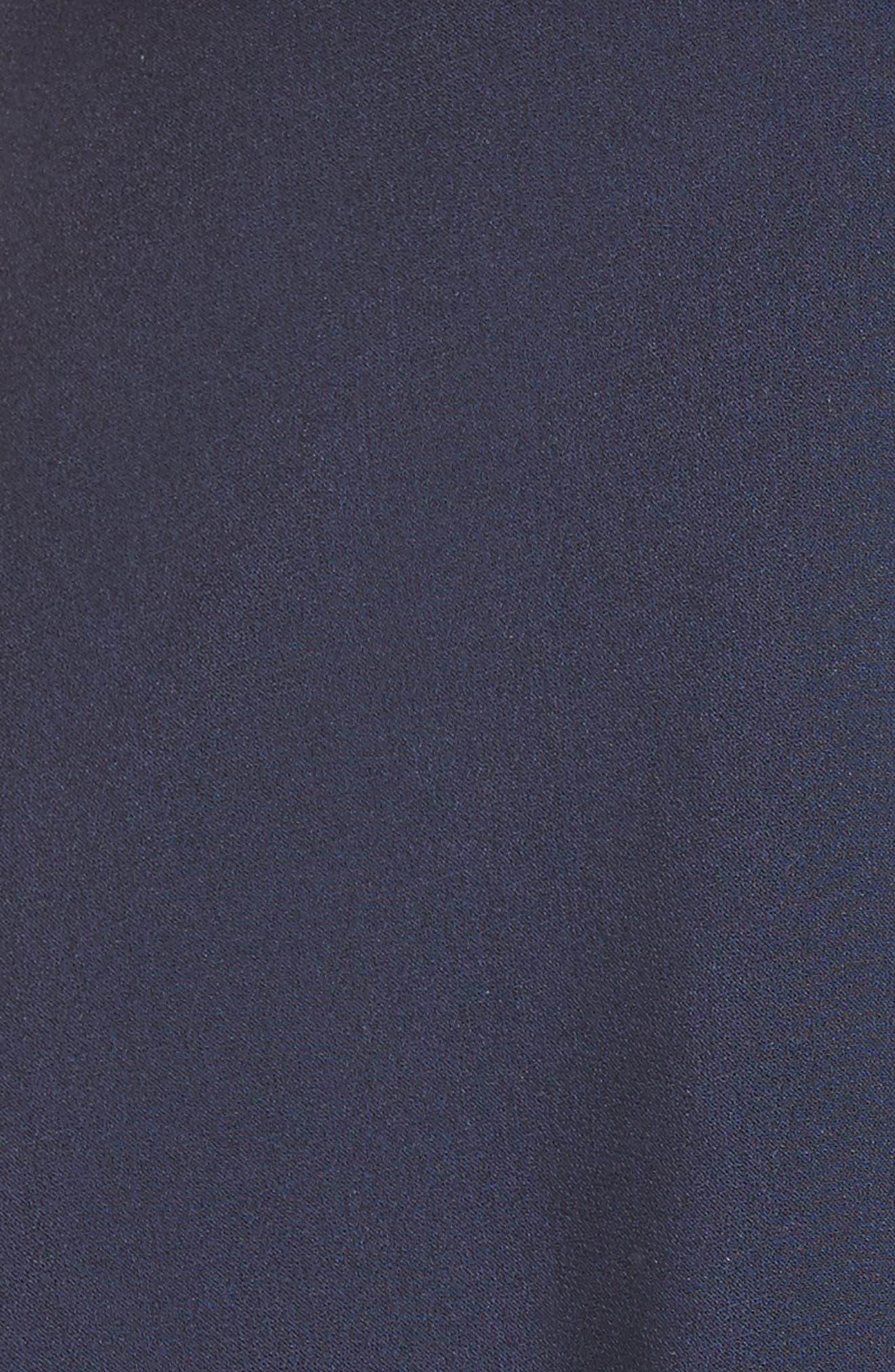 Nina Cutout Fit & Flare Dress,                             Alternate thumbnail 5, color,                             410