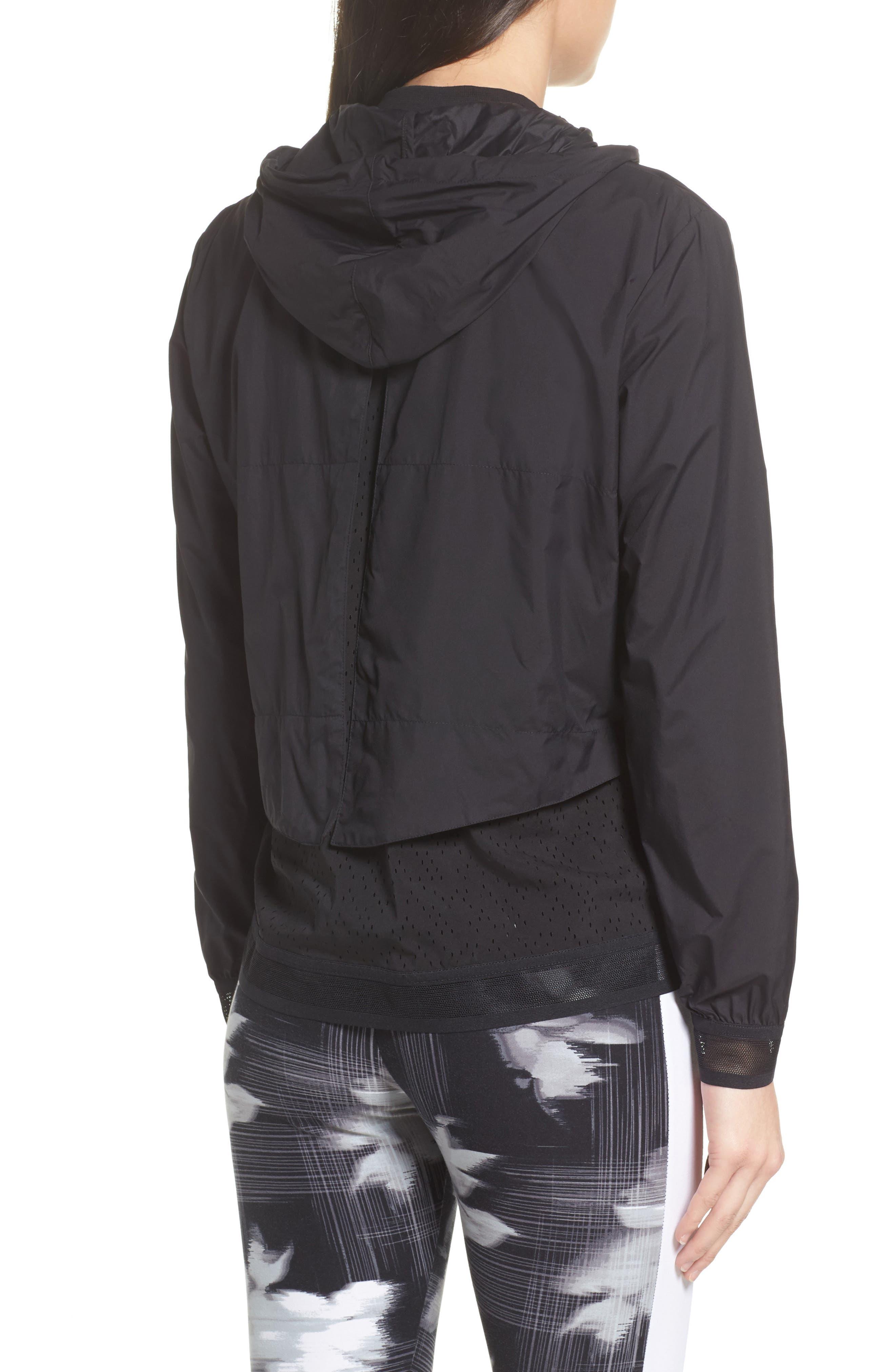 Evo Foldable Windrunner Jacket,                             Alternate thumbnail 3, color,