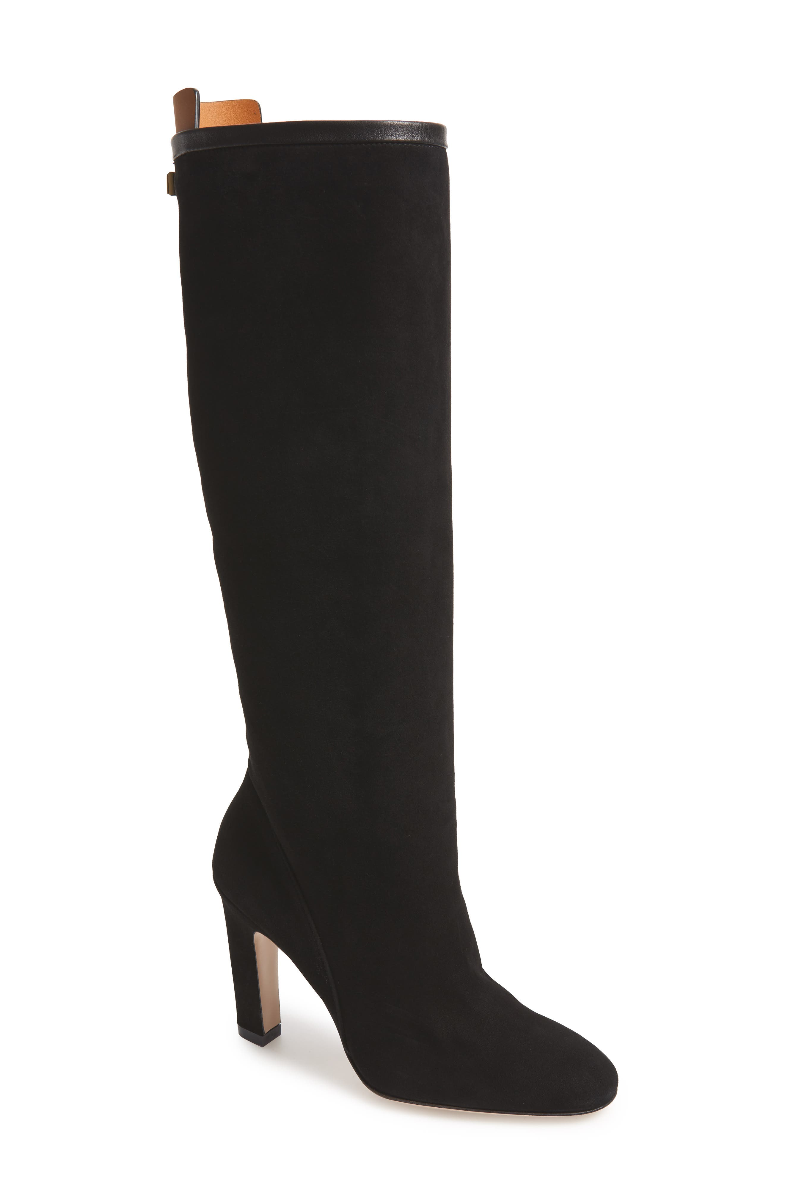 Charlie Knee High Boot,                             Main thumbnail 1, color,                             002