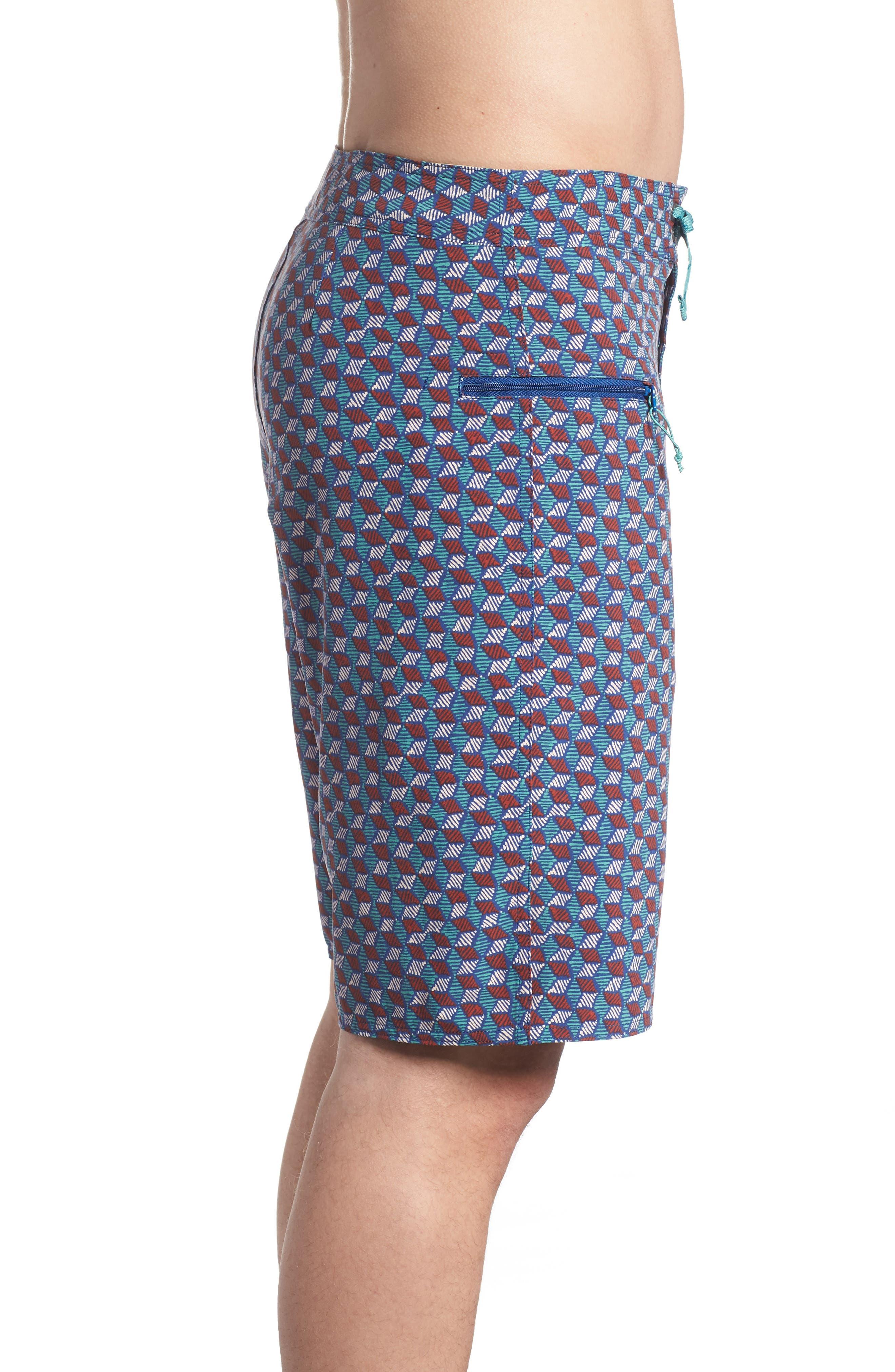 Wavefarer Board Shorts,                             Alternate thumbnail 3, color,                             SUPERIOR BLUE