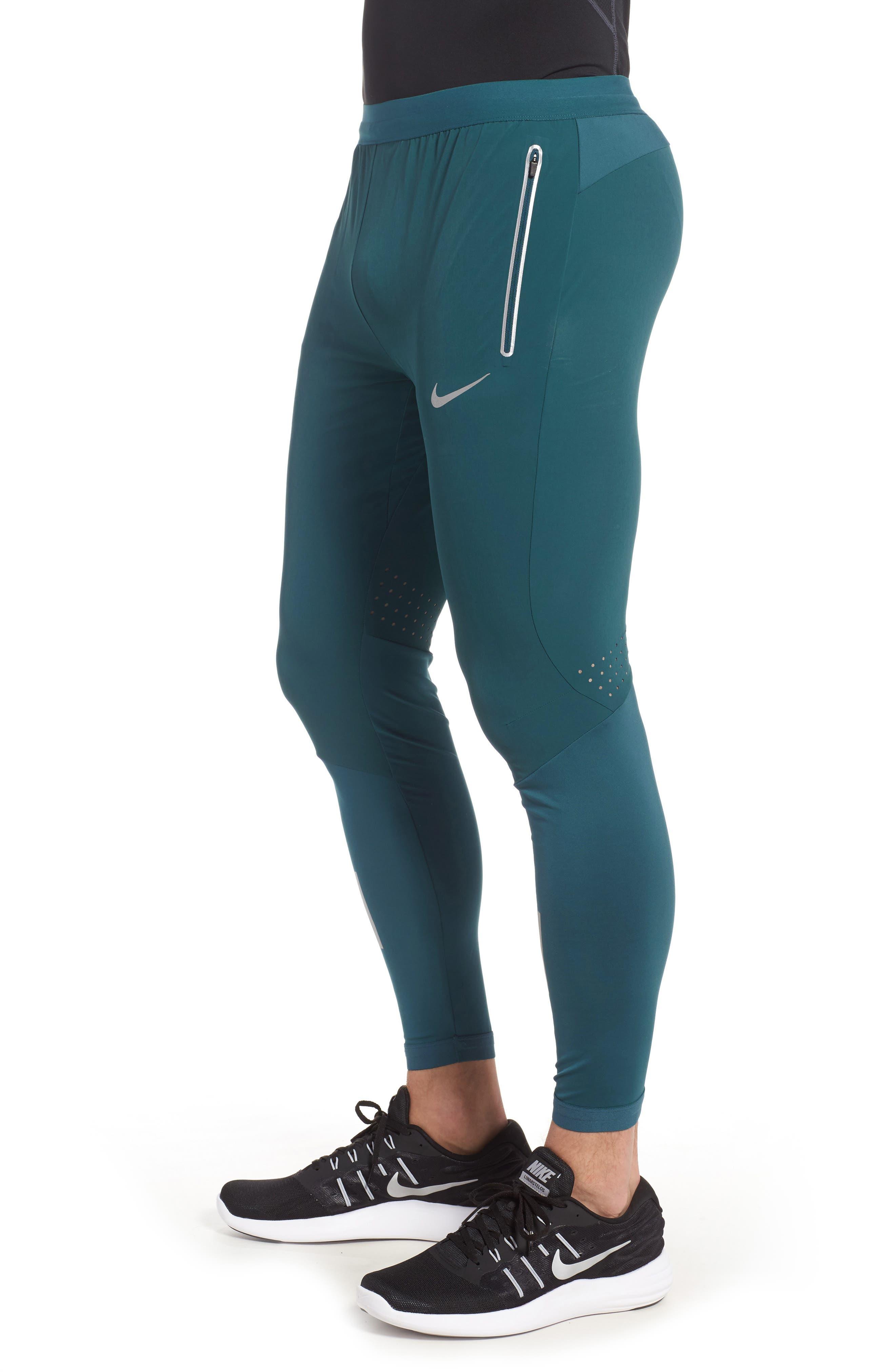 NIKE,                             Flex Running Pants,                             Alternate thumbnail 3, color,                             425