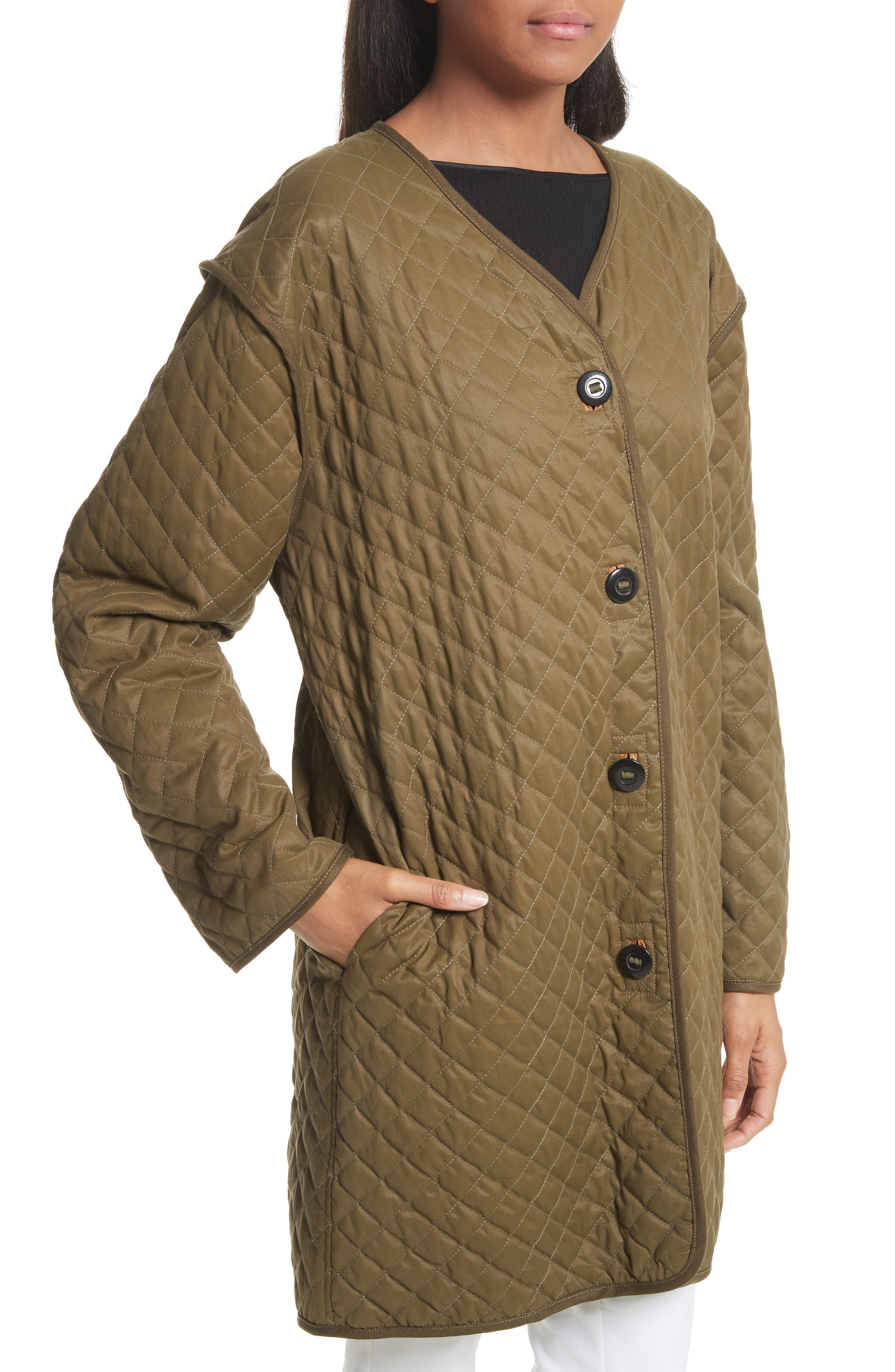 Rosa Quilted Liner Jacket,                             Alternate thumbnail 4, color,                             325
