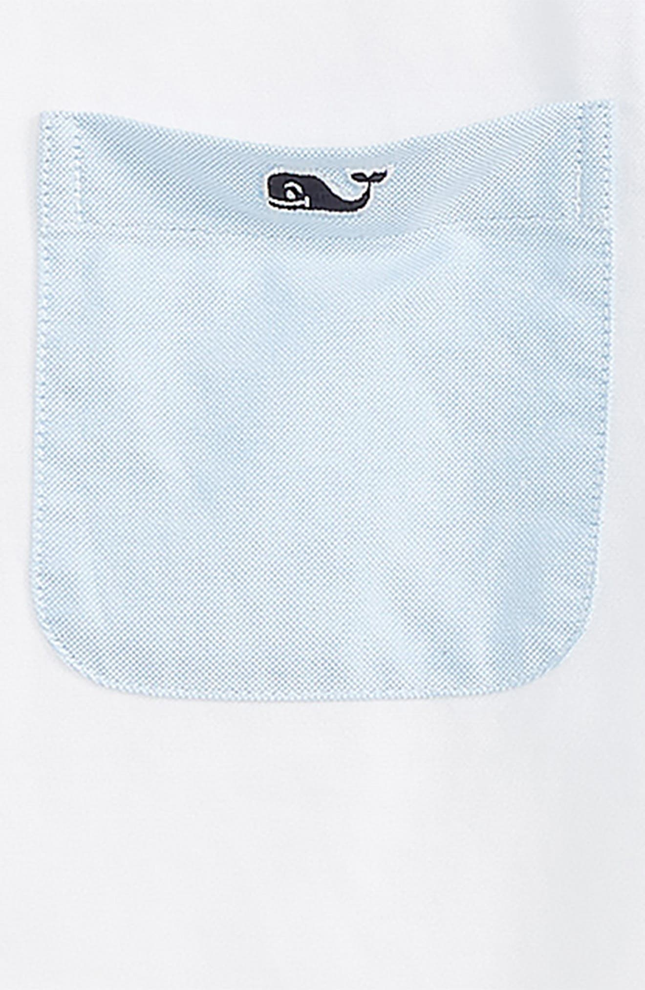 Party Whale Oxford Shirt,                             Alternate thumbnail 2, color,                             408