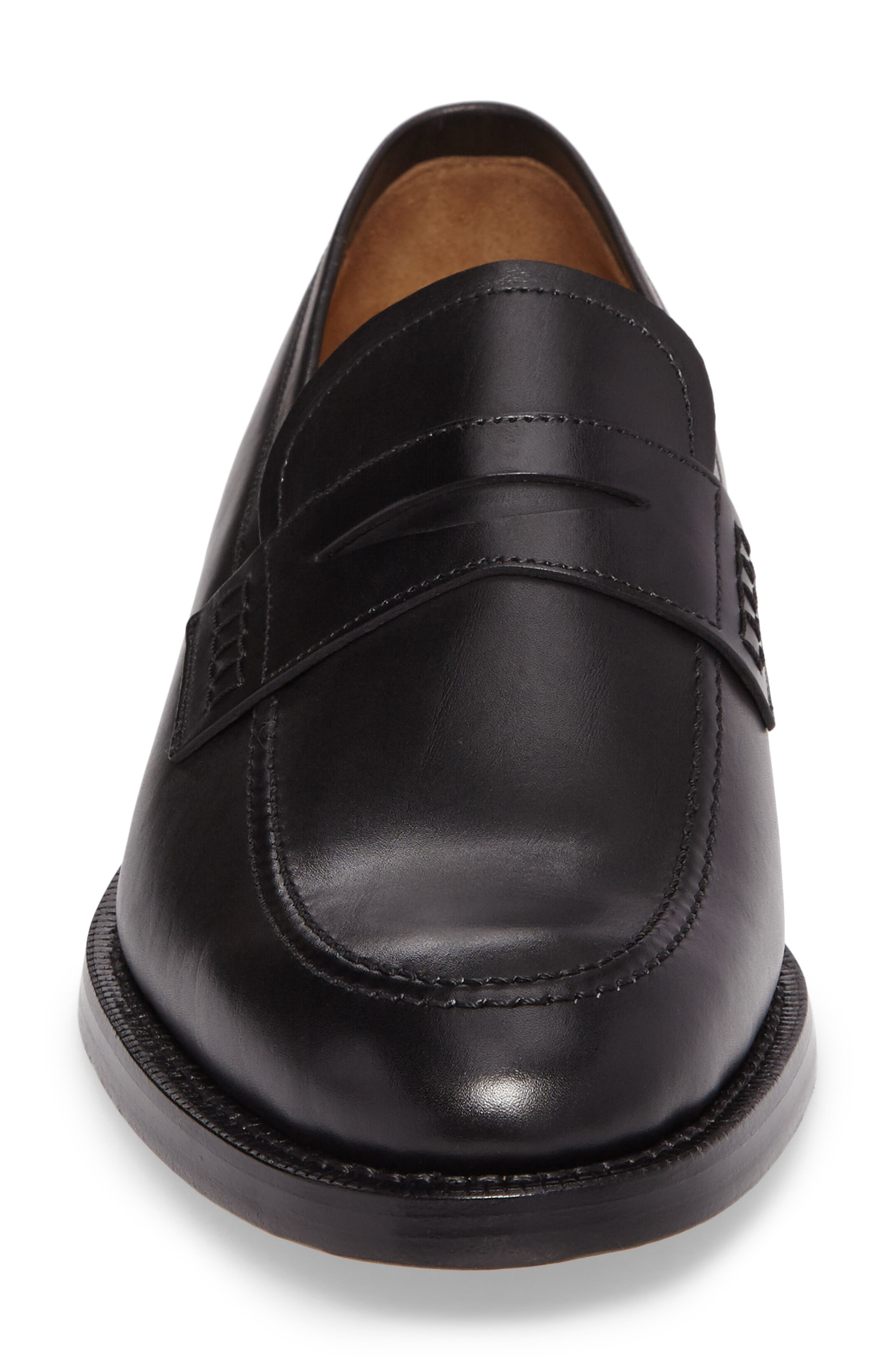Archie Penny Loafer,                             Alternate thumbnail 4, color,                             001