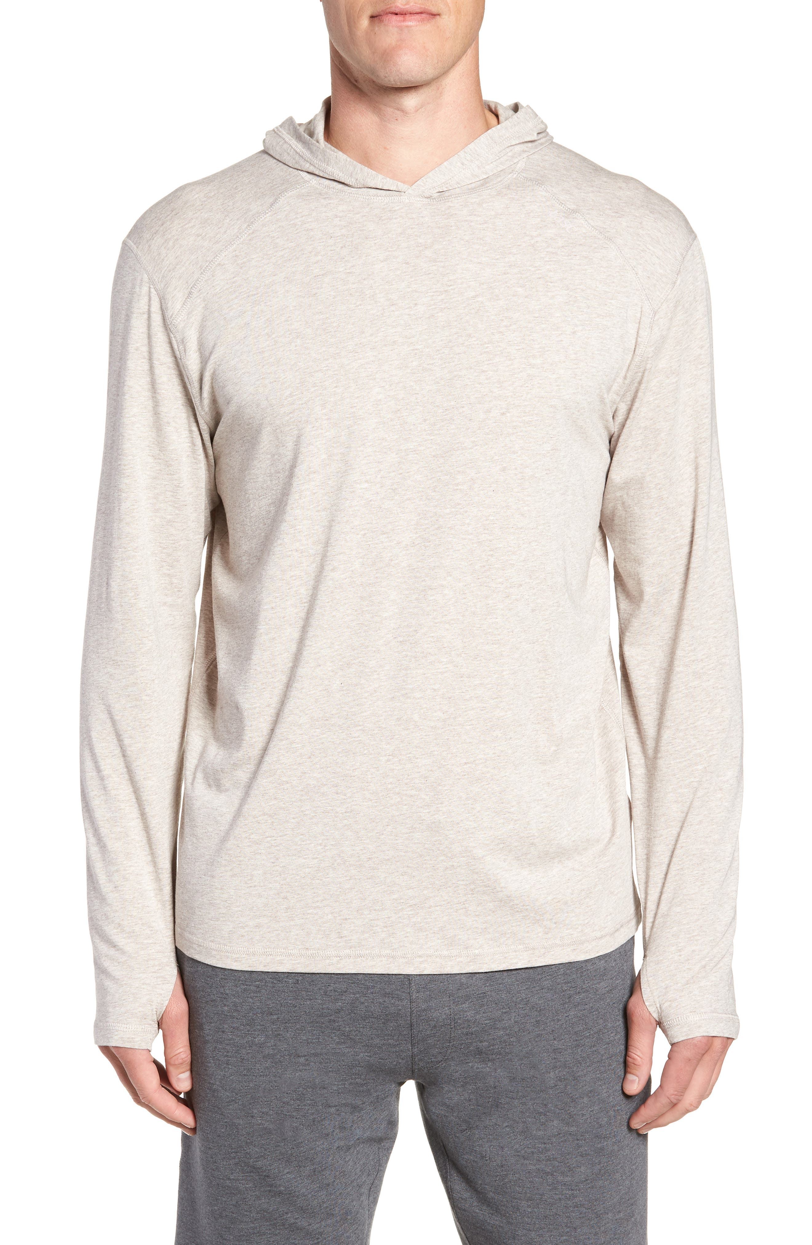 Carrollton Regular Fit Pullover Hoodie,                         Main,                         color, CRATER HEATHER