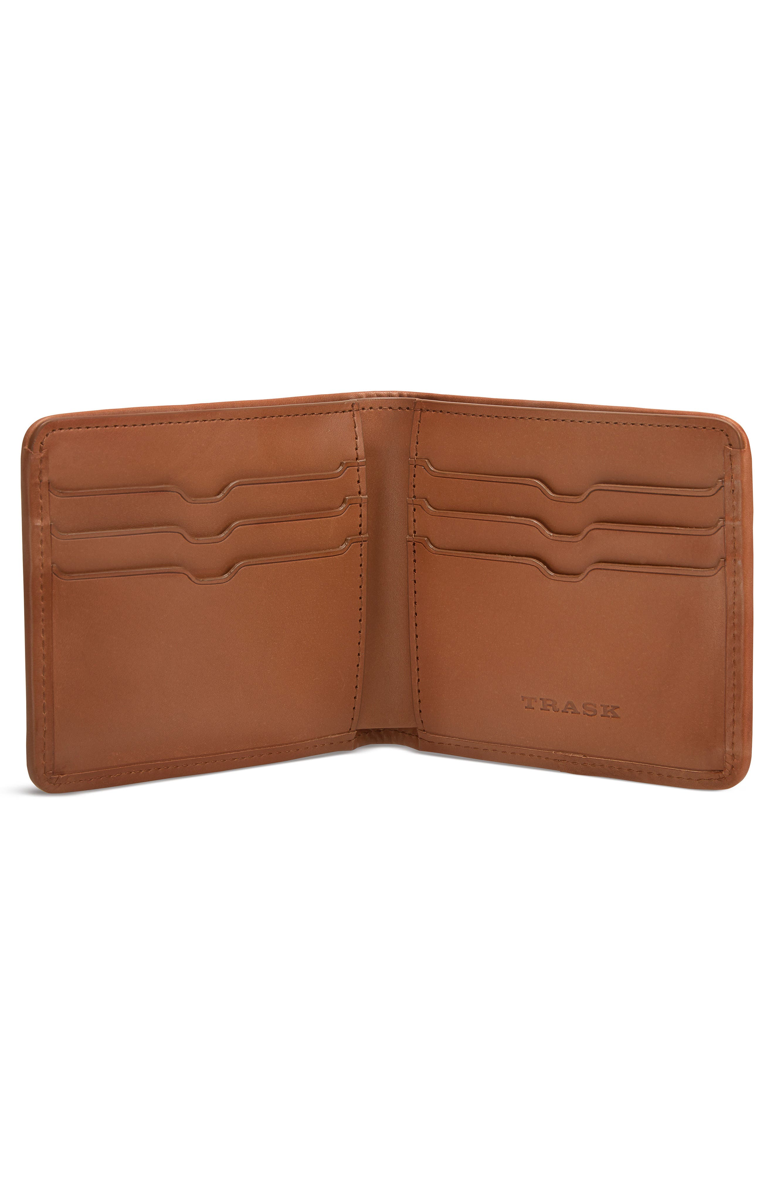 Woven Leather Wallet,                             Alternate thumbnail 2, color,                             240