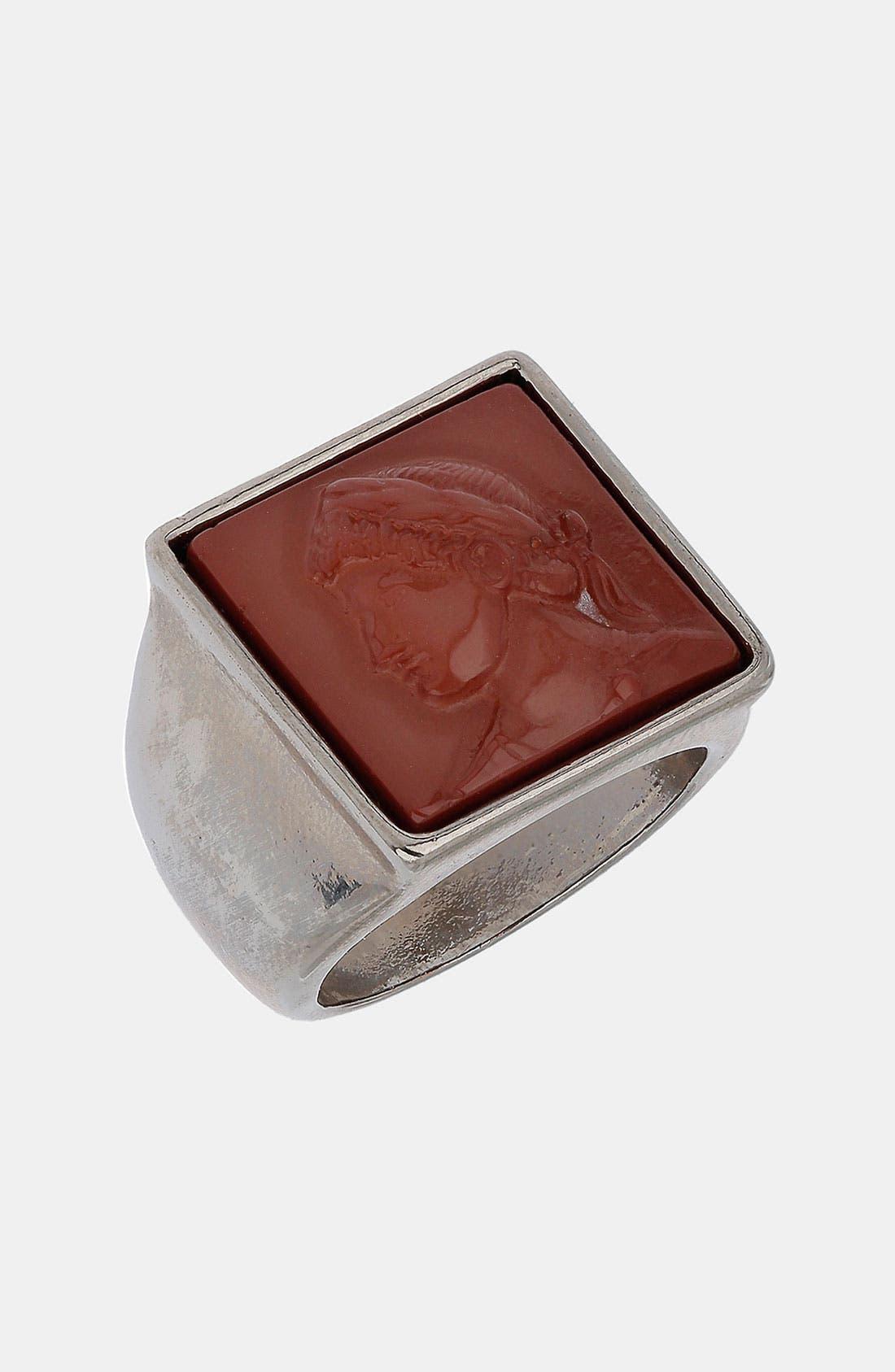 Signet Ring,                             Main thumbnail 1, color,                             600