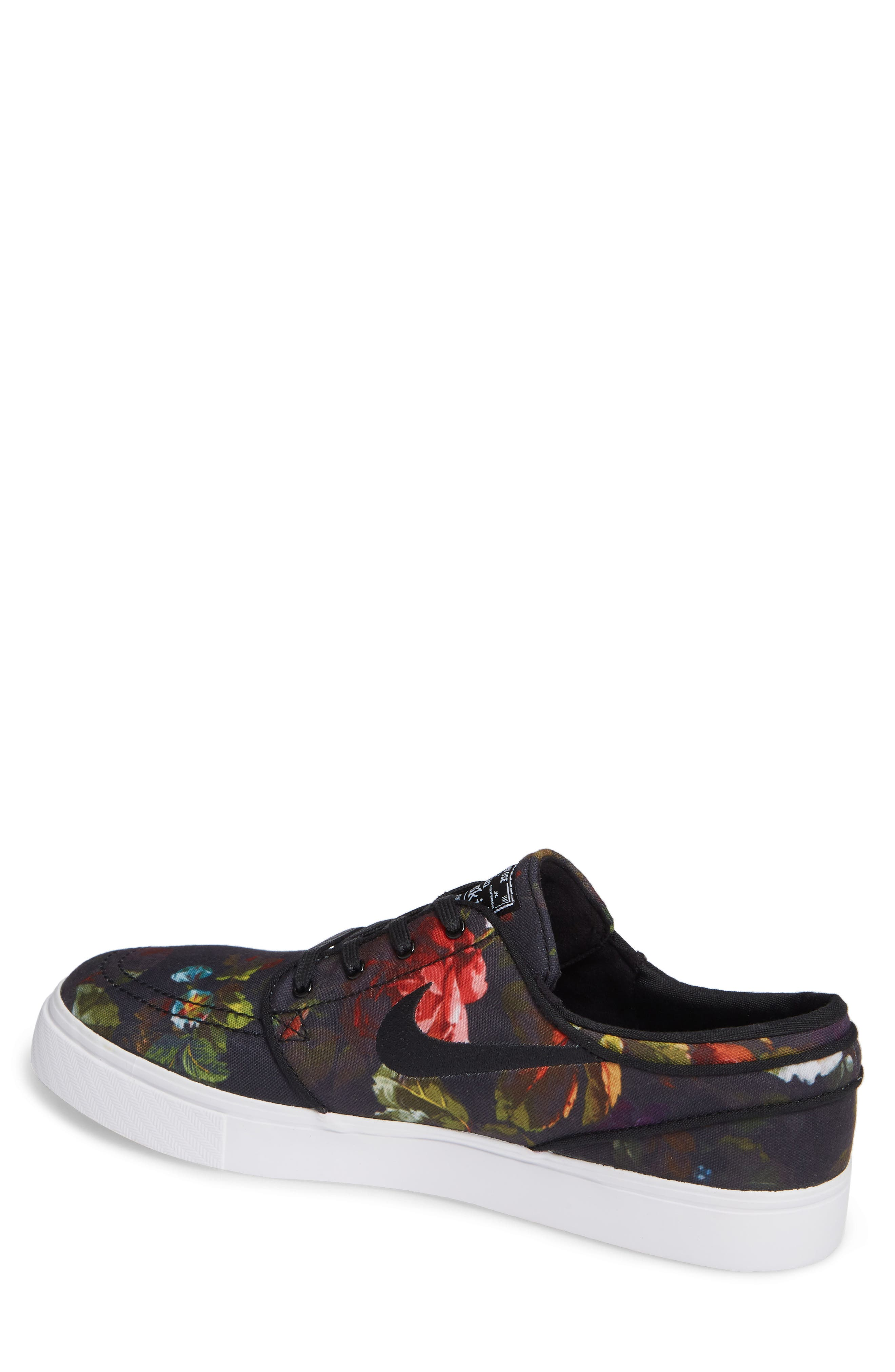 Zoom - Stefan Janoski SB Canvas Skate Shoe,                             Alternate thumbnail 45, color,