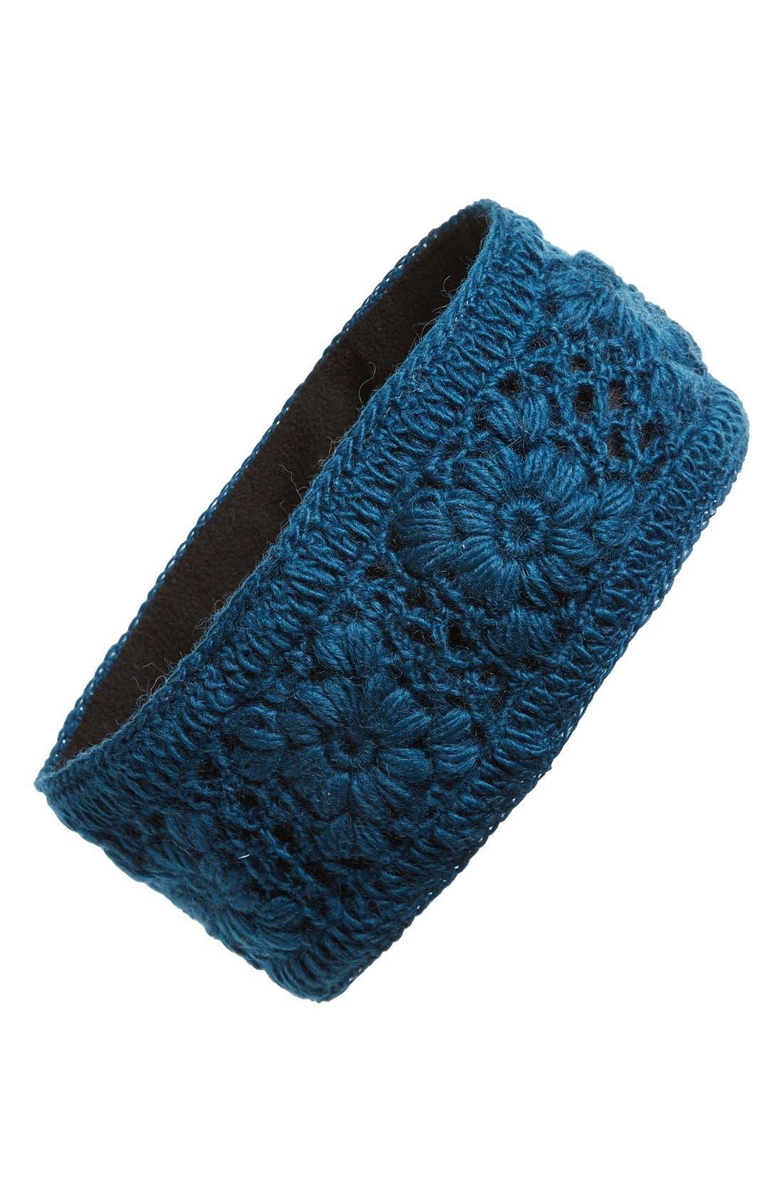 Crochet Ear Warmer Headband,                             Main thumbnail 6, color,