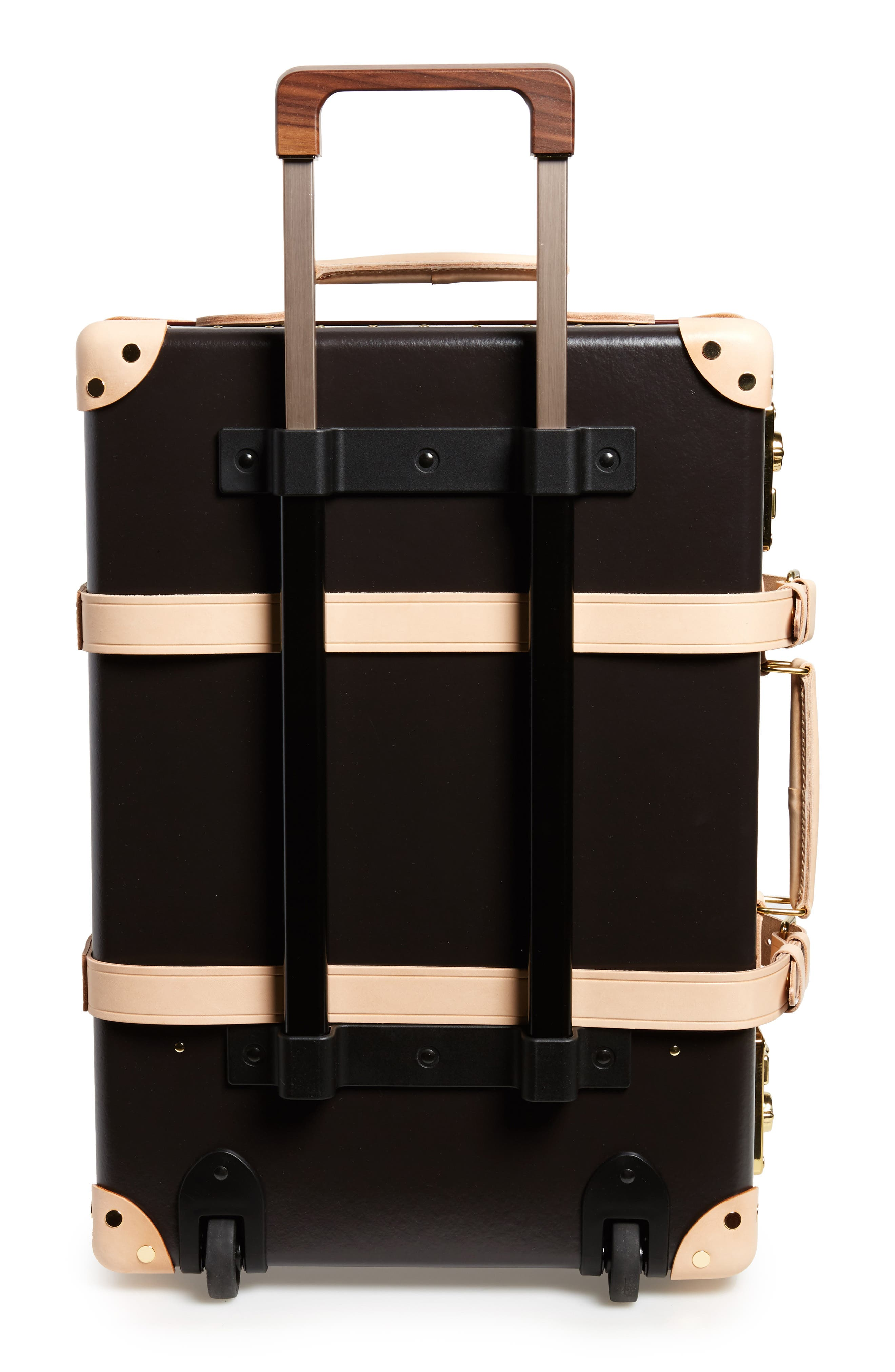 Safari 22-Inch Hardshell Trolley Travel Case,                             Alternate thumbnail 4, color,                             COLONIAL/NATURAL