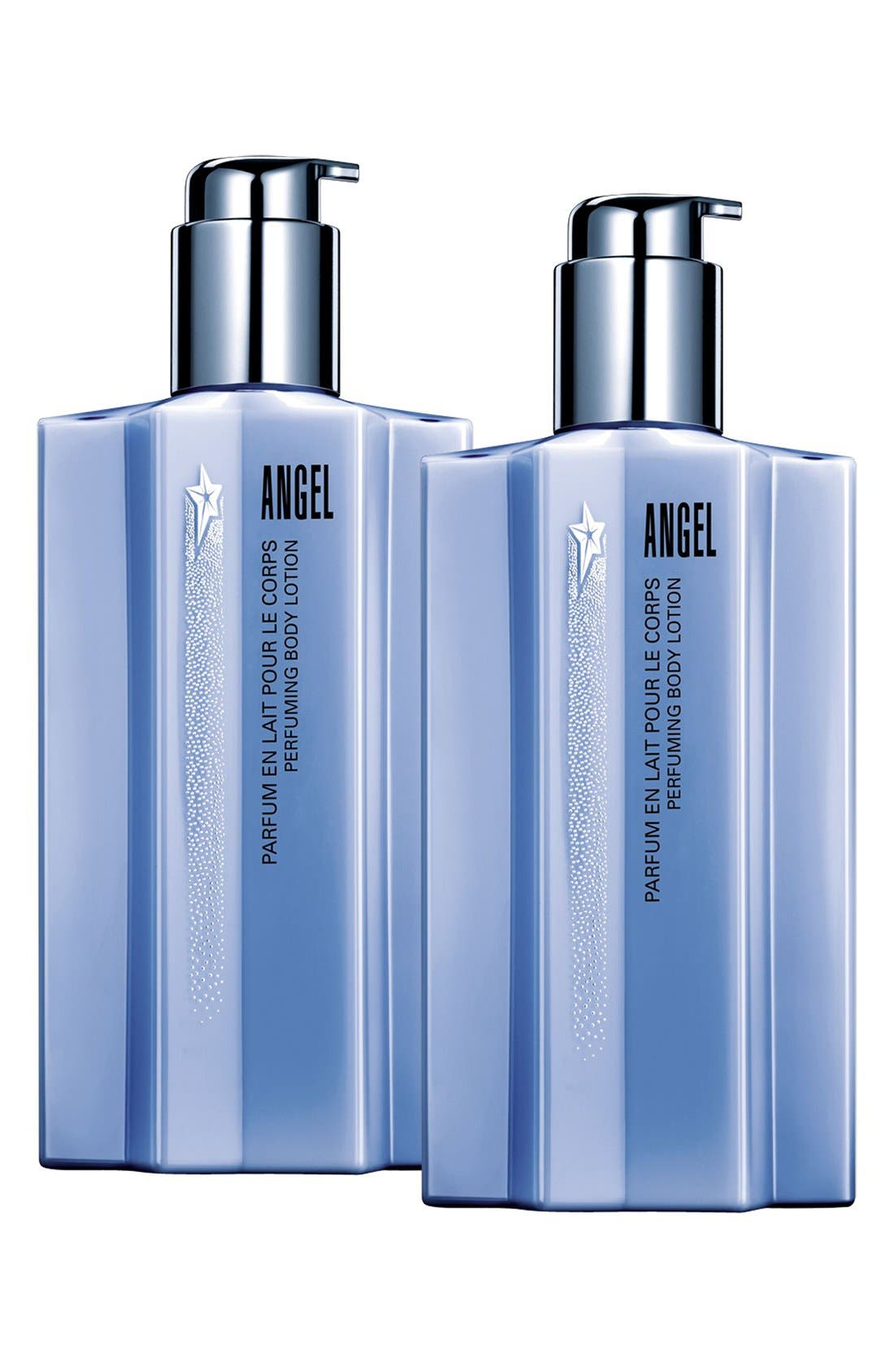 Angel by Mugler Double Indulgence Body Lotion Duo,                             Main thumbnail 1, color,                             000