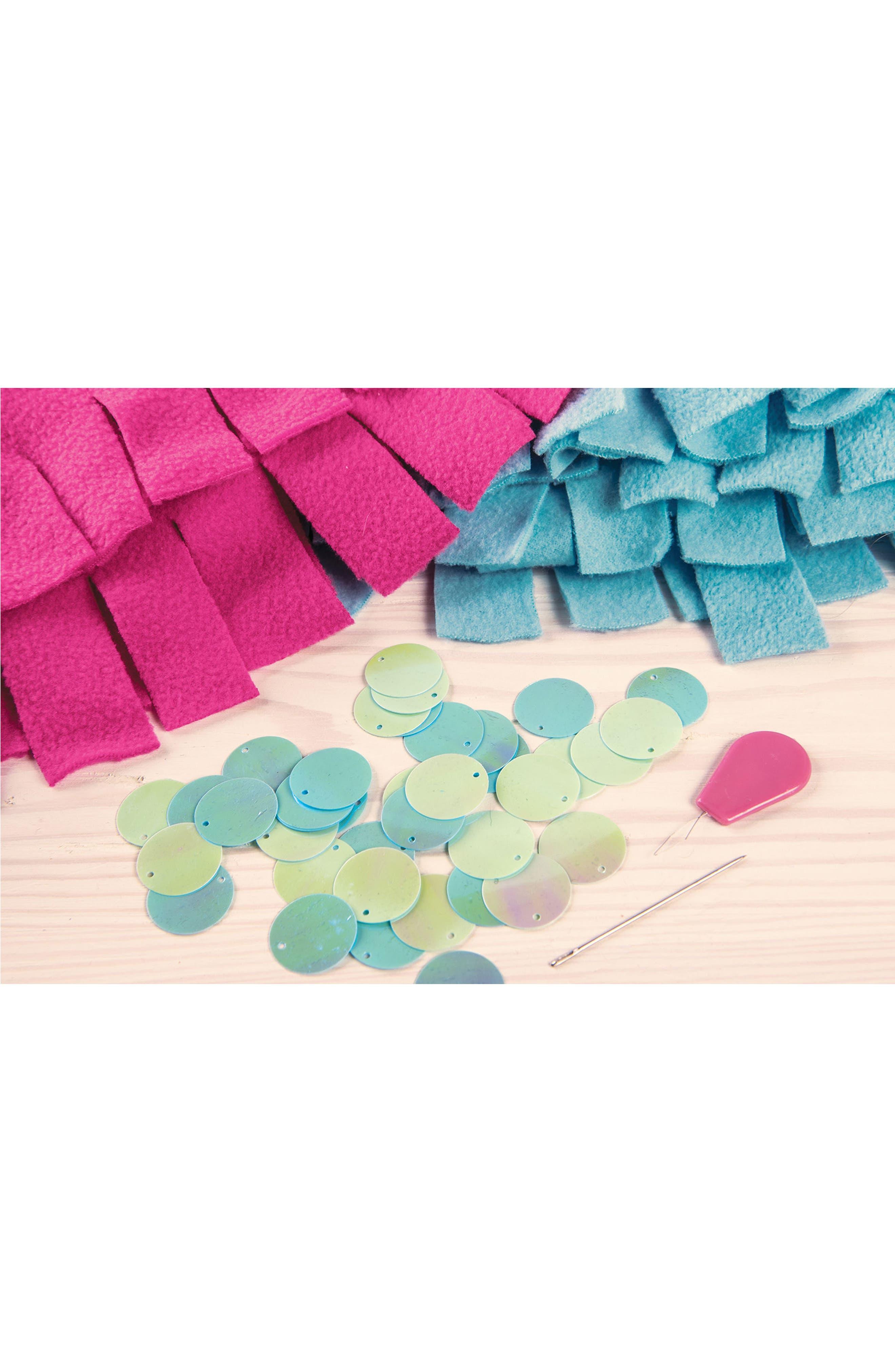 Knot & Bling Mermaid Tail Kit,                             Alternate thumbnail 3, color,                             650