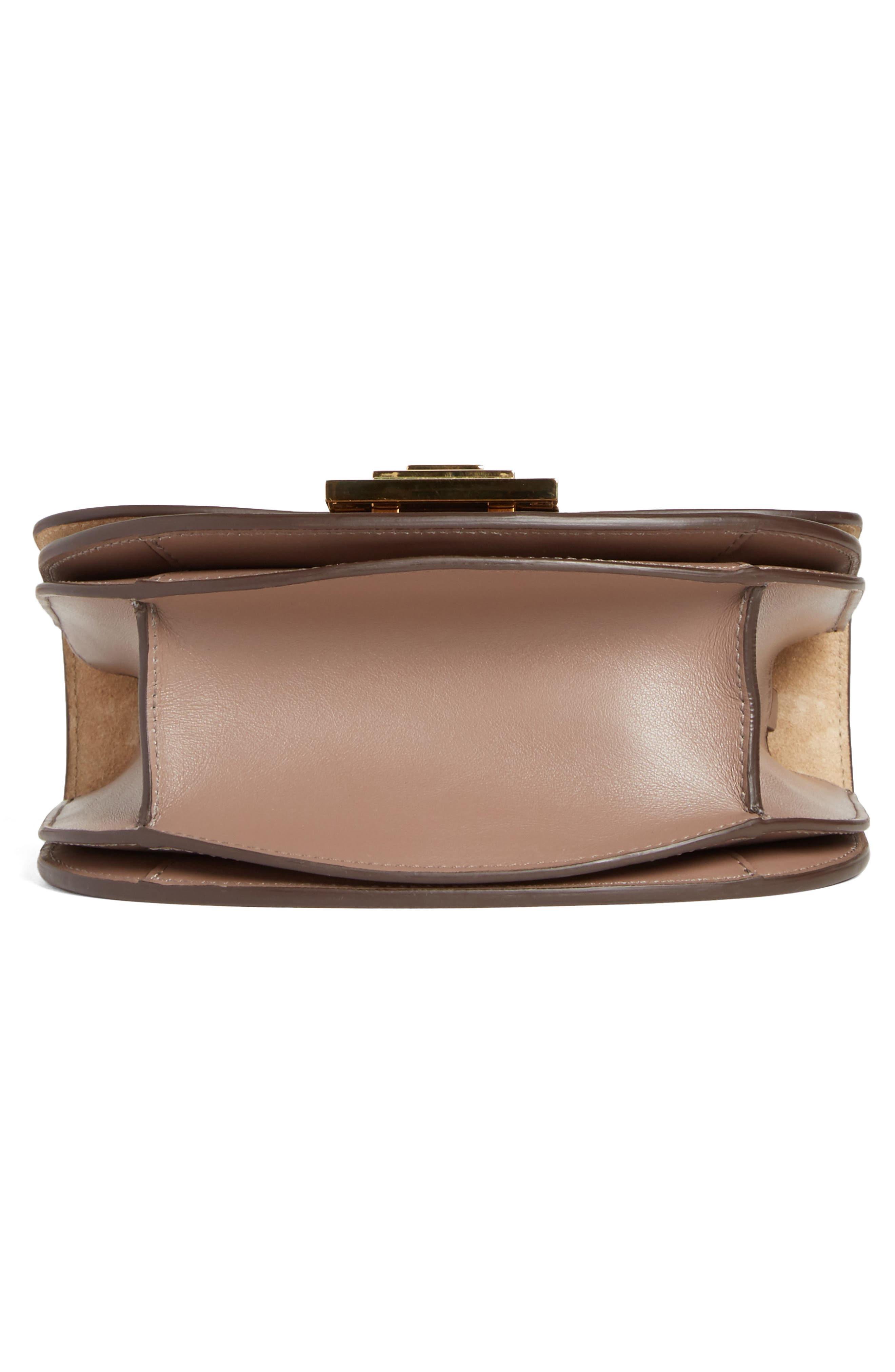 Medium Box Leather Shoulder Bag,                             Alternate thumbnail 6, color,                             200