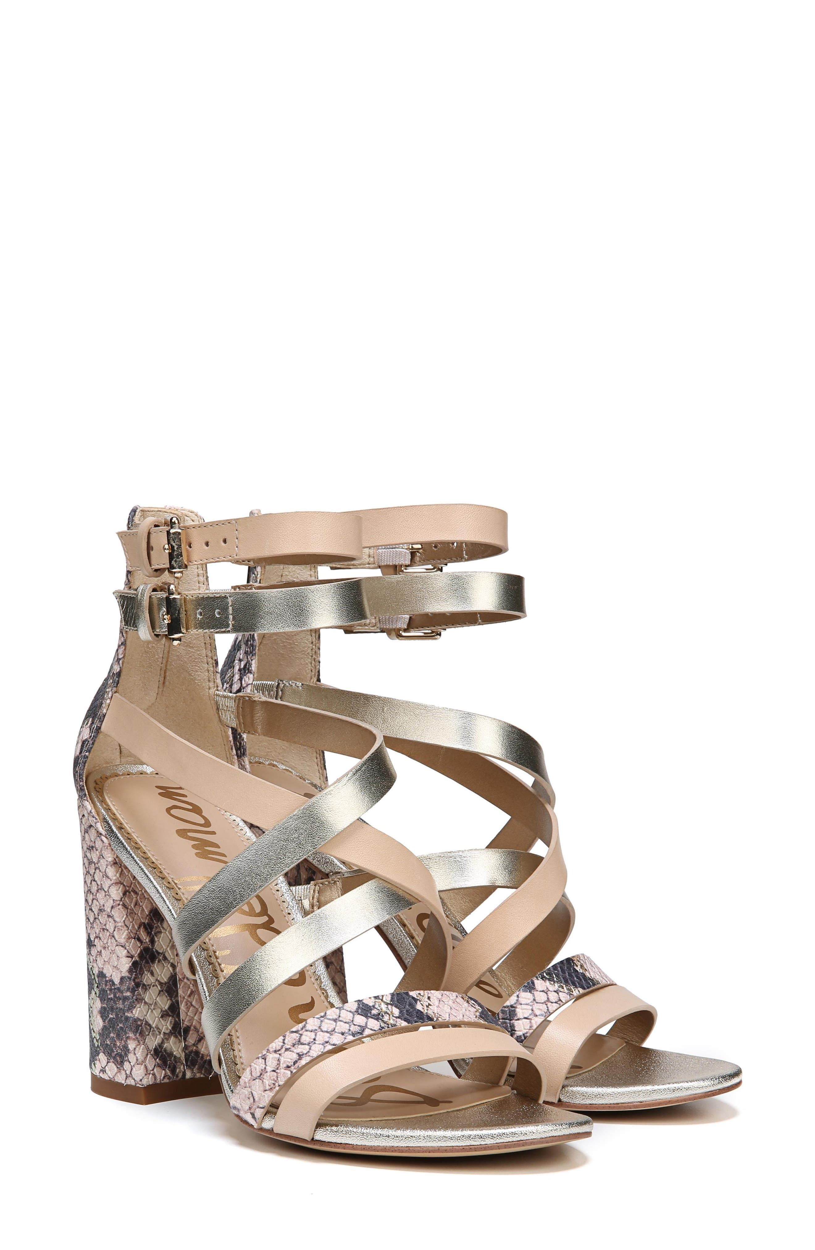 Yema Block Heel Sandal,                         Main,                         color, NATURAL/ PINK/ JUTE
