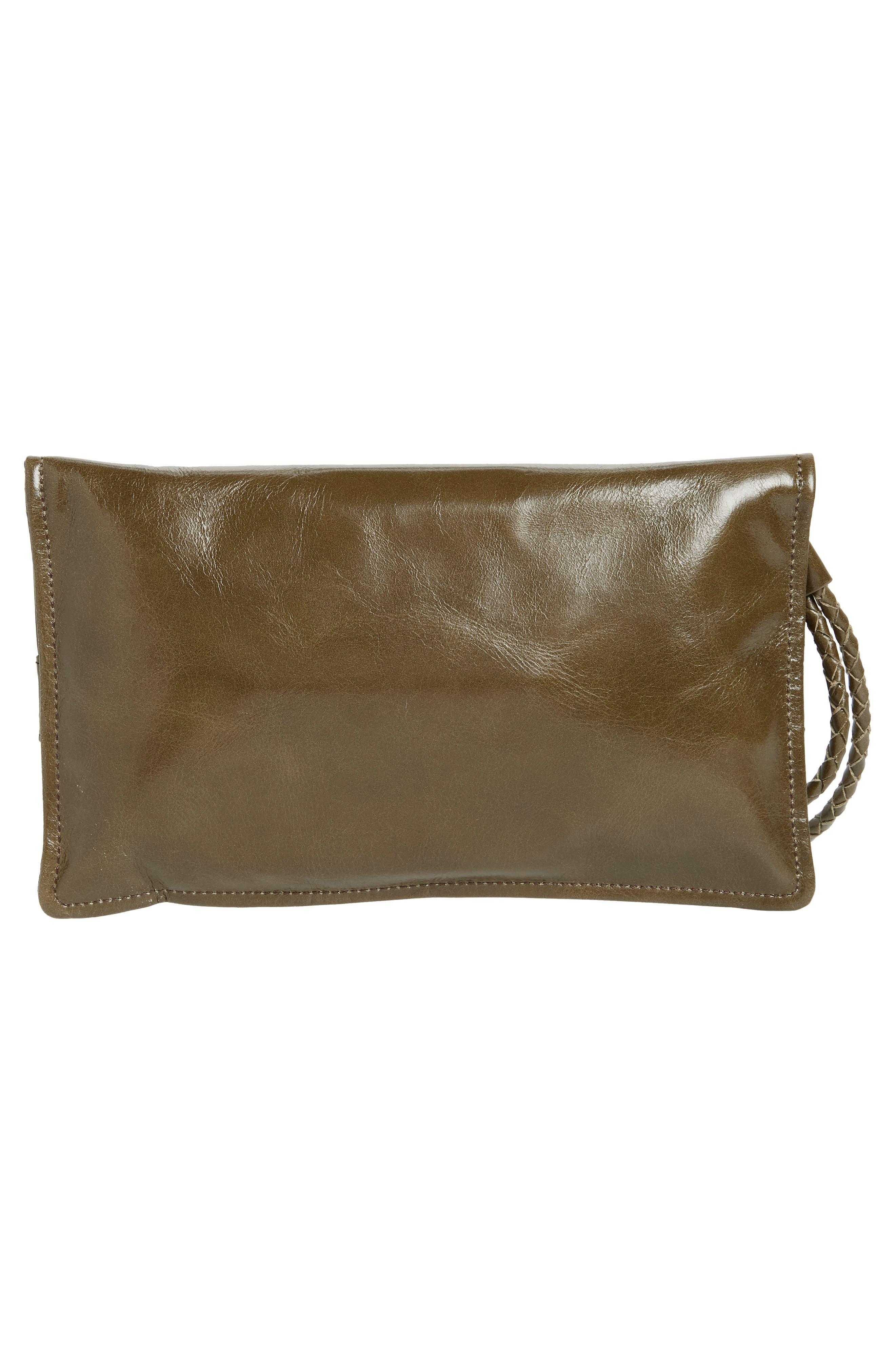 Arbor Leather Wristlet Clutch,                             Alternate thumbnail 12, color,