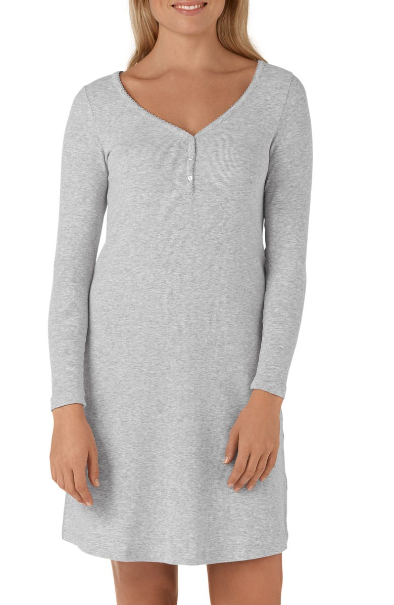 The White Company Henley Nightgown | Nordstrom